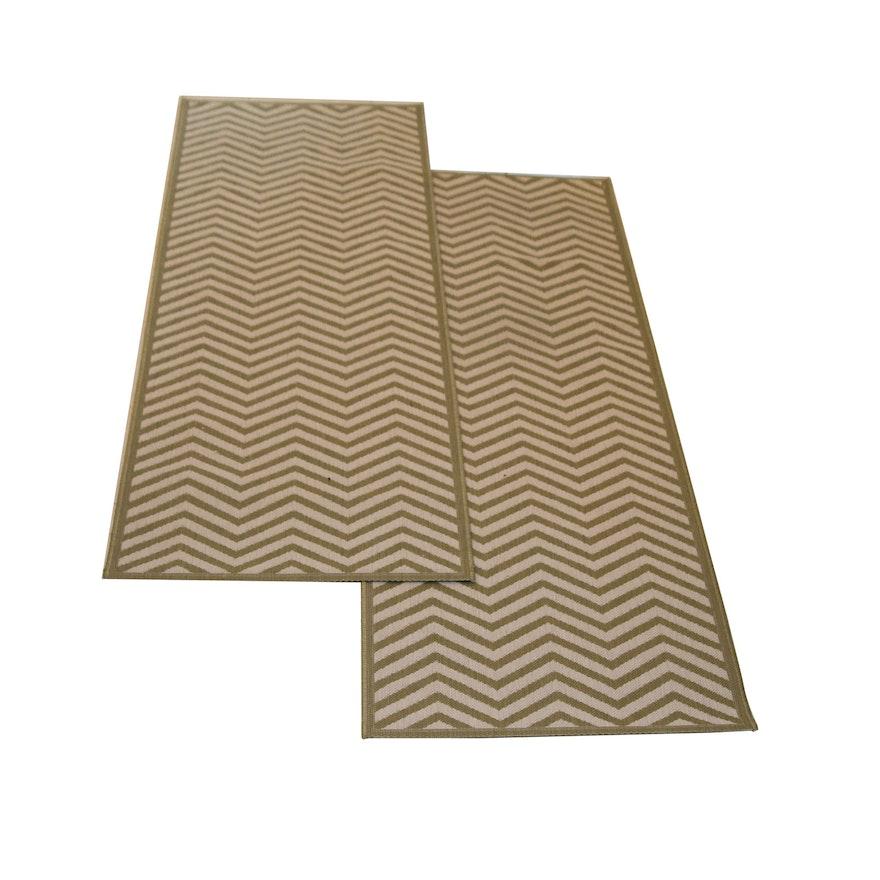 Chevron Stripe Rug: Ballard Designs Chevron Stripes Indoor/Outdoor Runner Rug