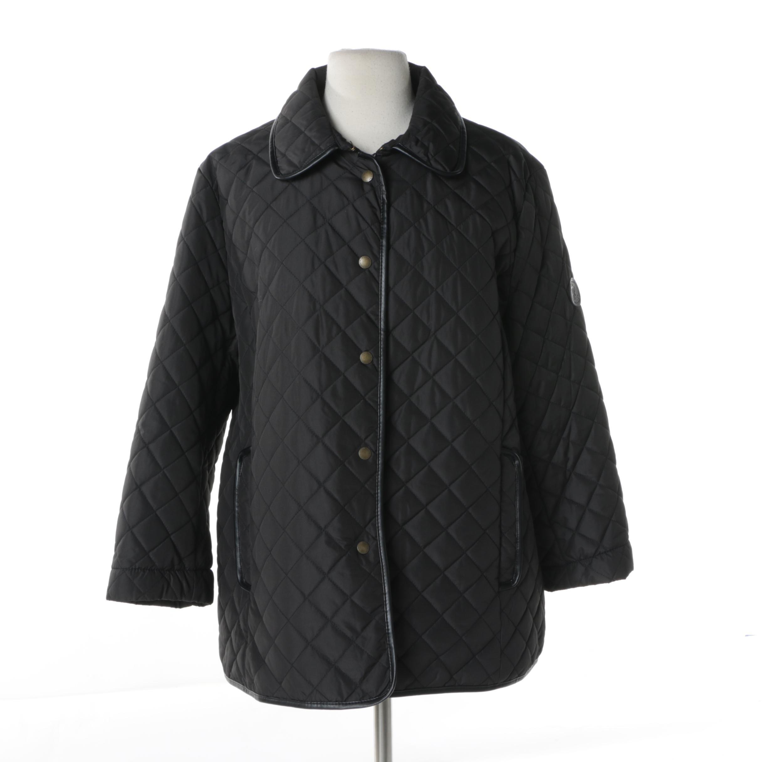 Lauren Ralph Lauren Black Quilted Jacket
