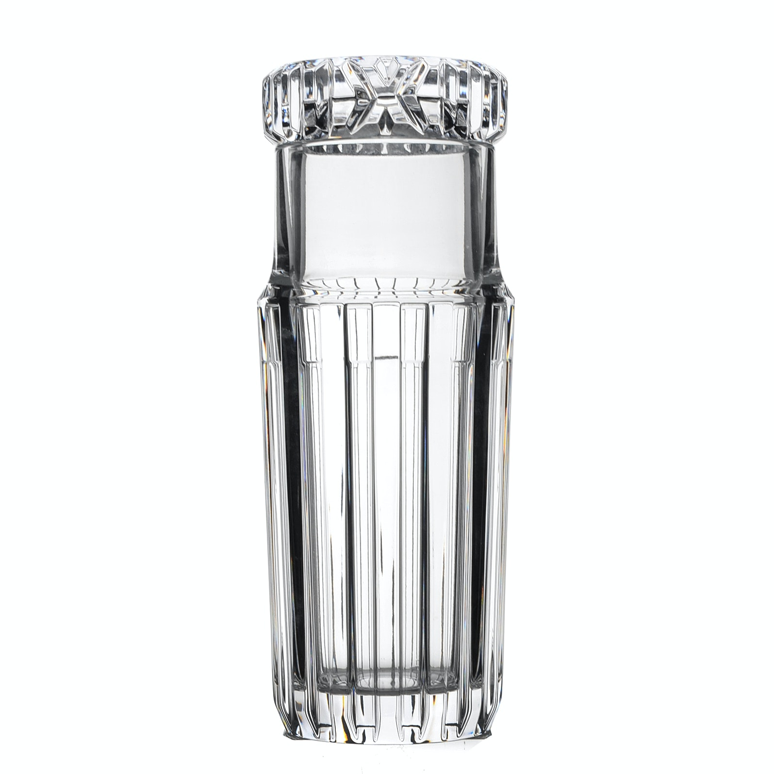 "Tiffany & Co. ""Atlas""  Crystal Water Carafe"