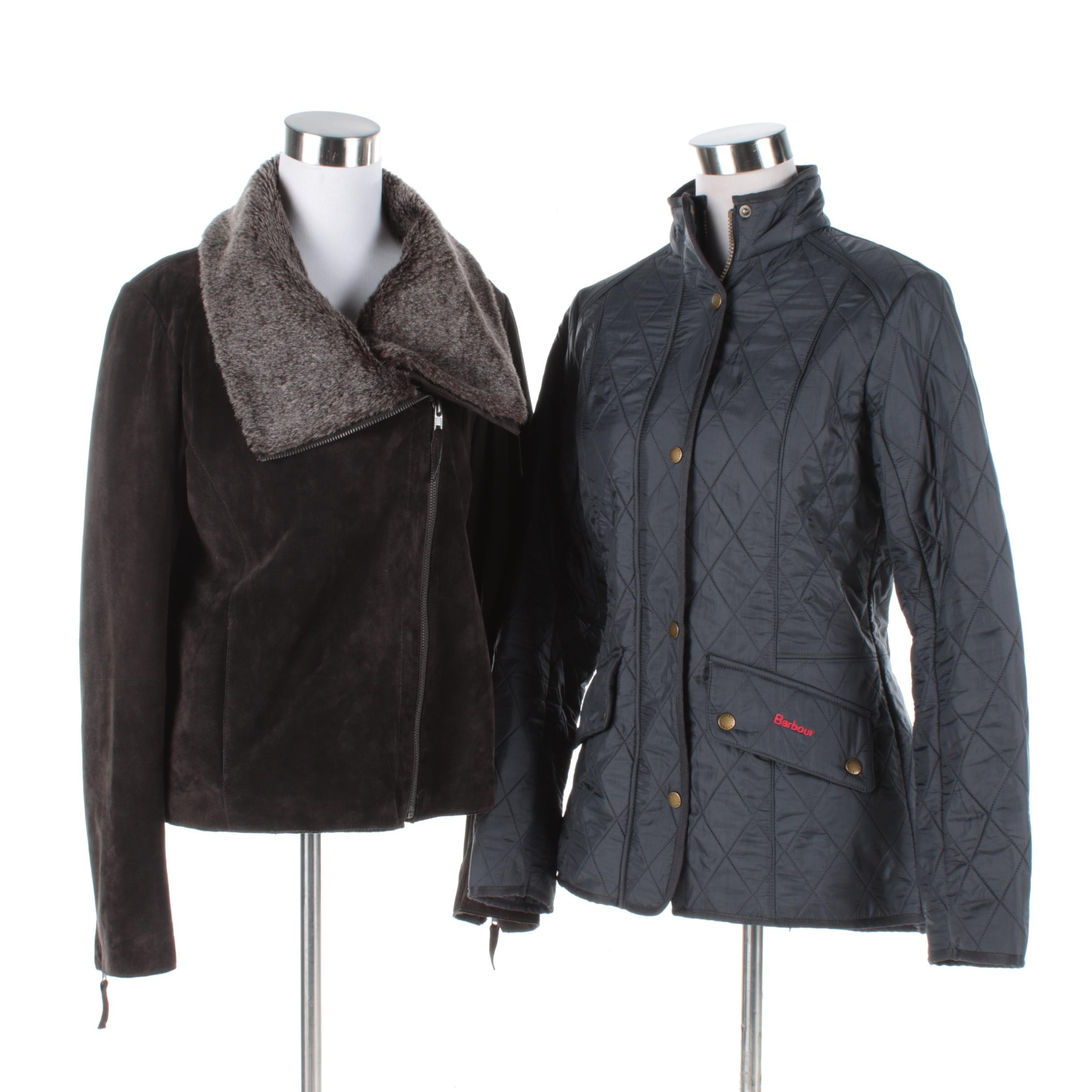 Women's Barbour and Ecru Jackets