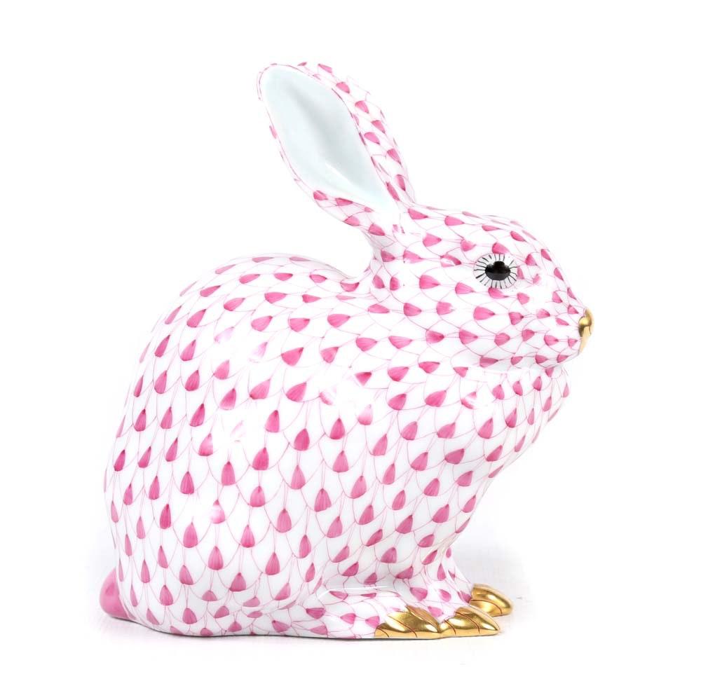 Herend Hungary Porcelain Rabbit