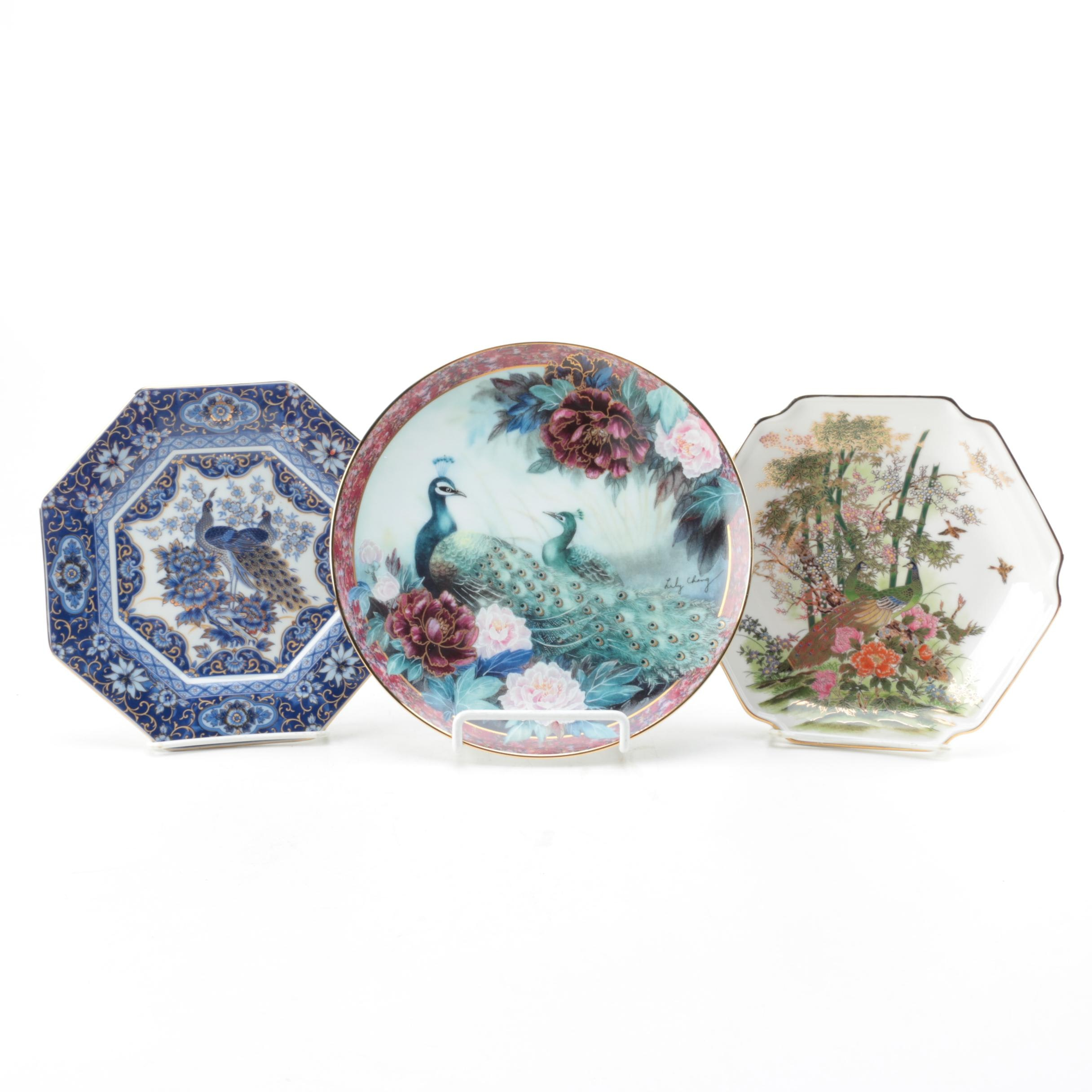 "Decorative Plates Including Limited Edition Lily Chang ""Tranquility"""