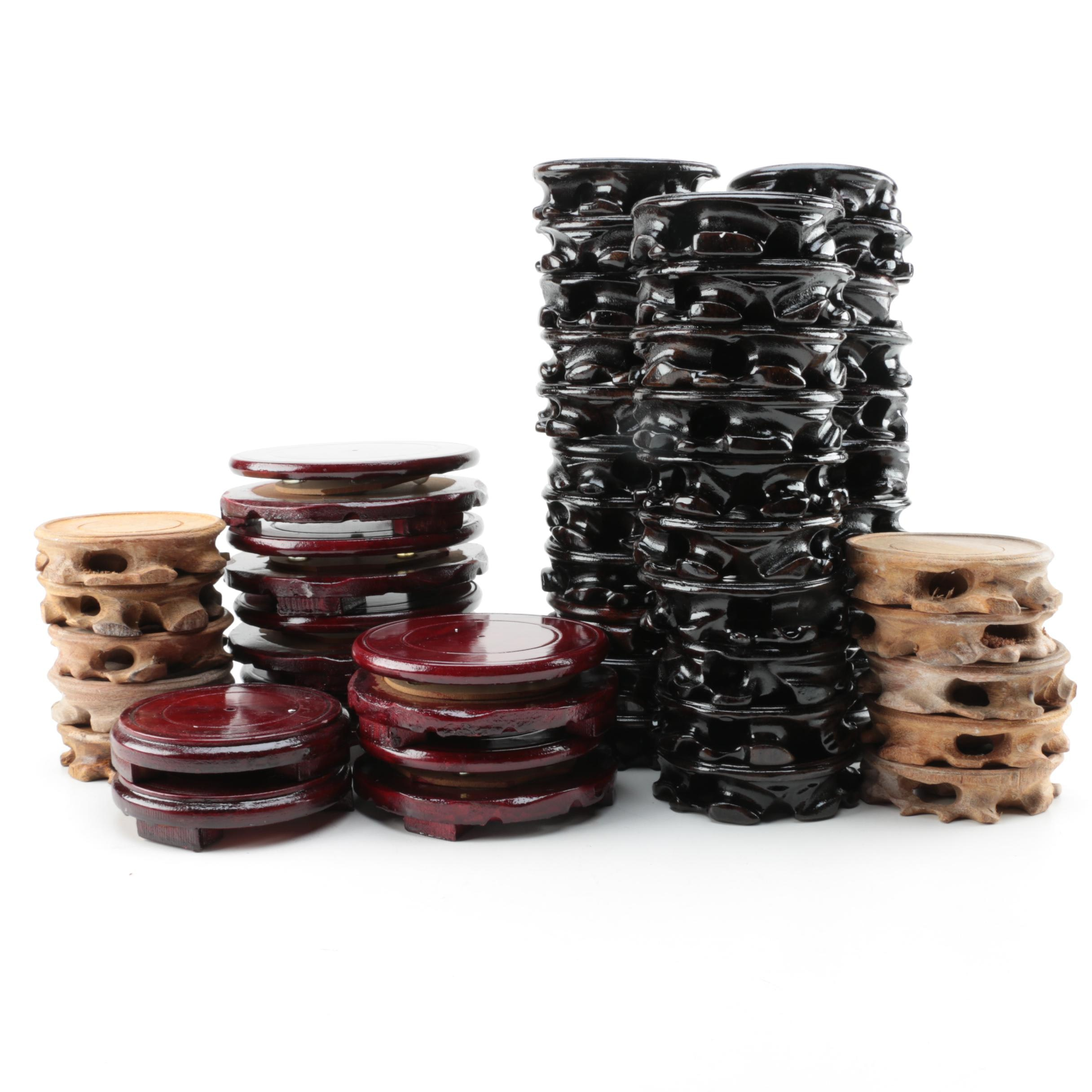Chinese Wooden Stands
