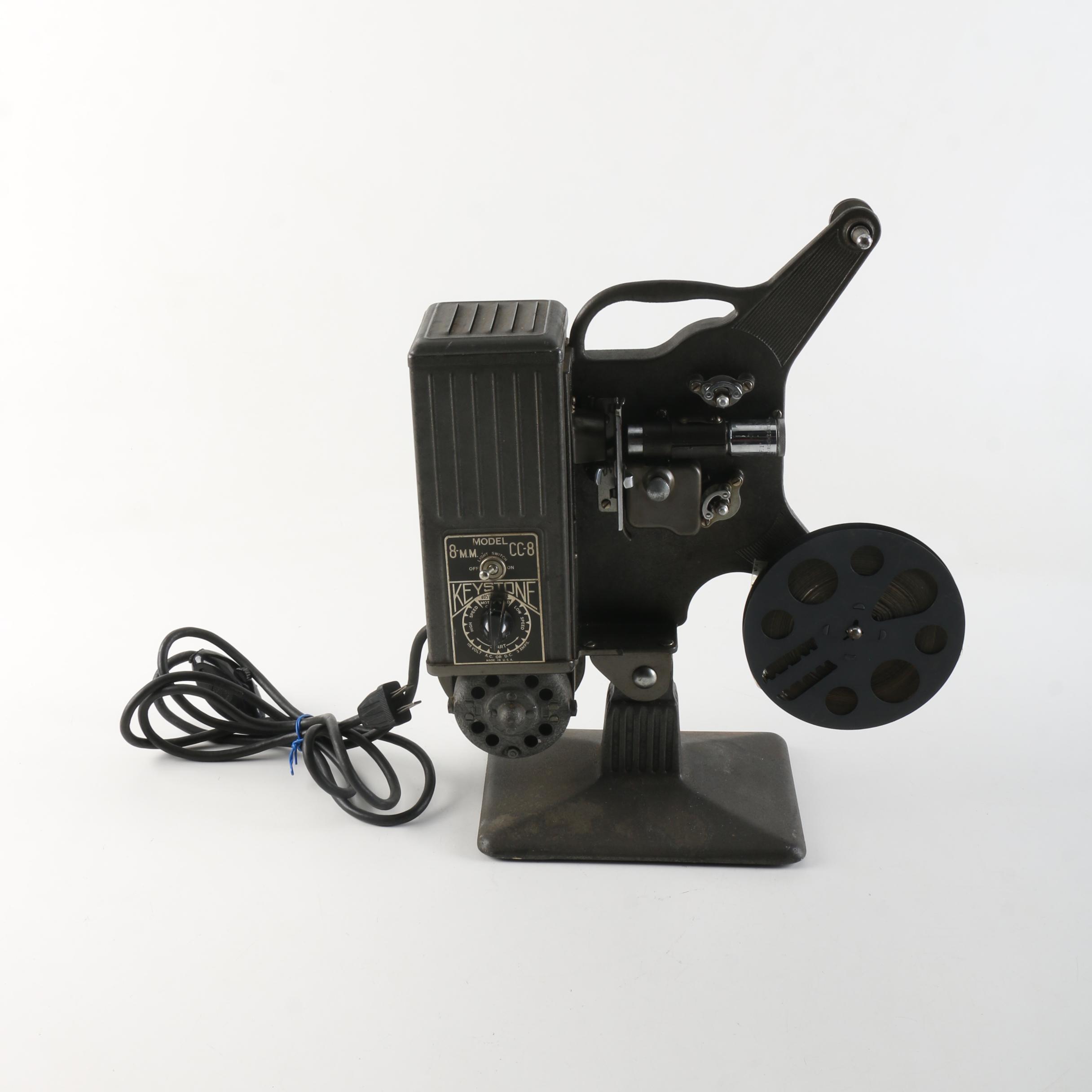 Keystone CC-8 Reel-to-Reel Projector