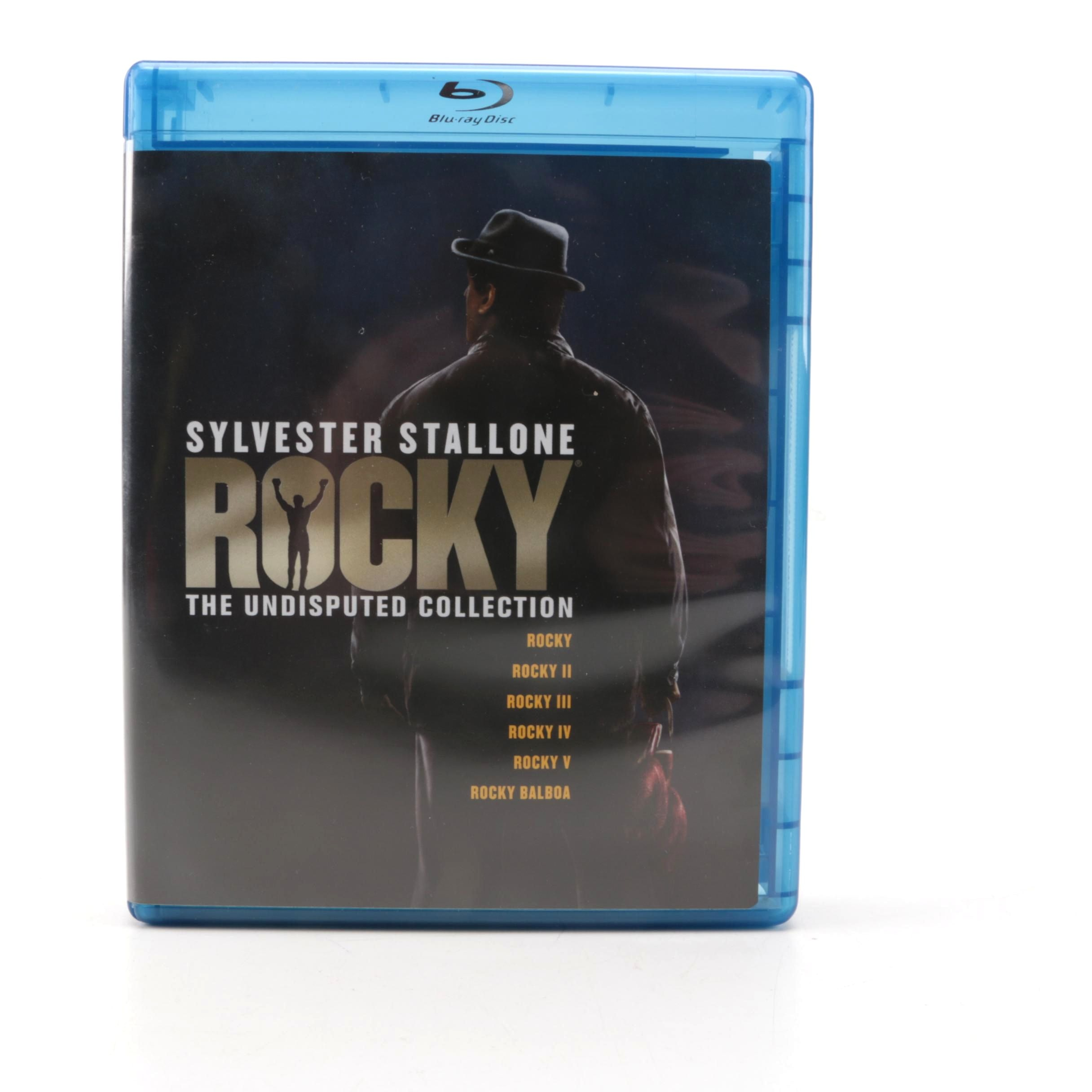 """""""Rocky: The Undisputed Collection""""  on Blu-ray"""