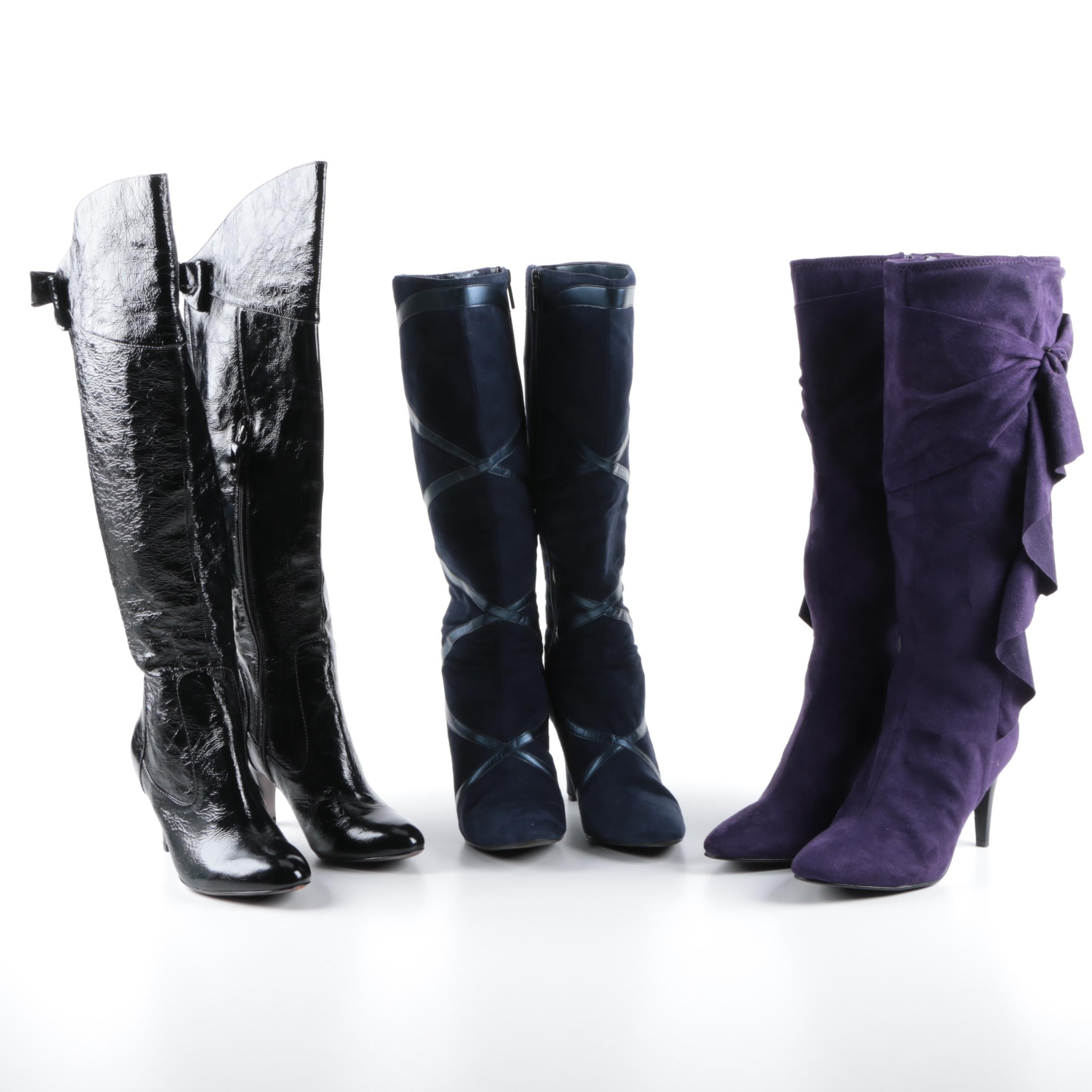 Women's High-Heeled Boots Including Isola