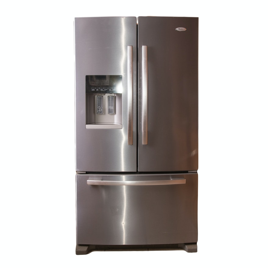 Whirlpool Gold Series French Door Refrigerator Ebth
