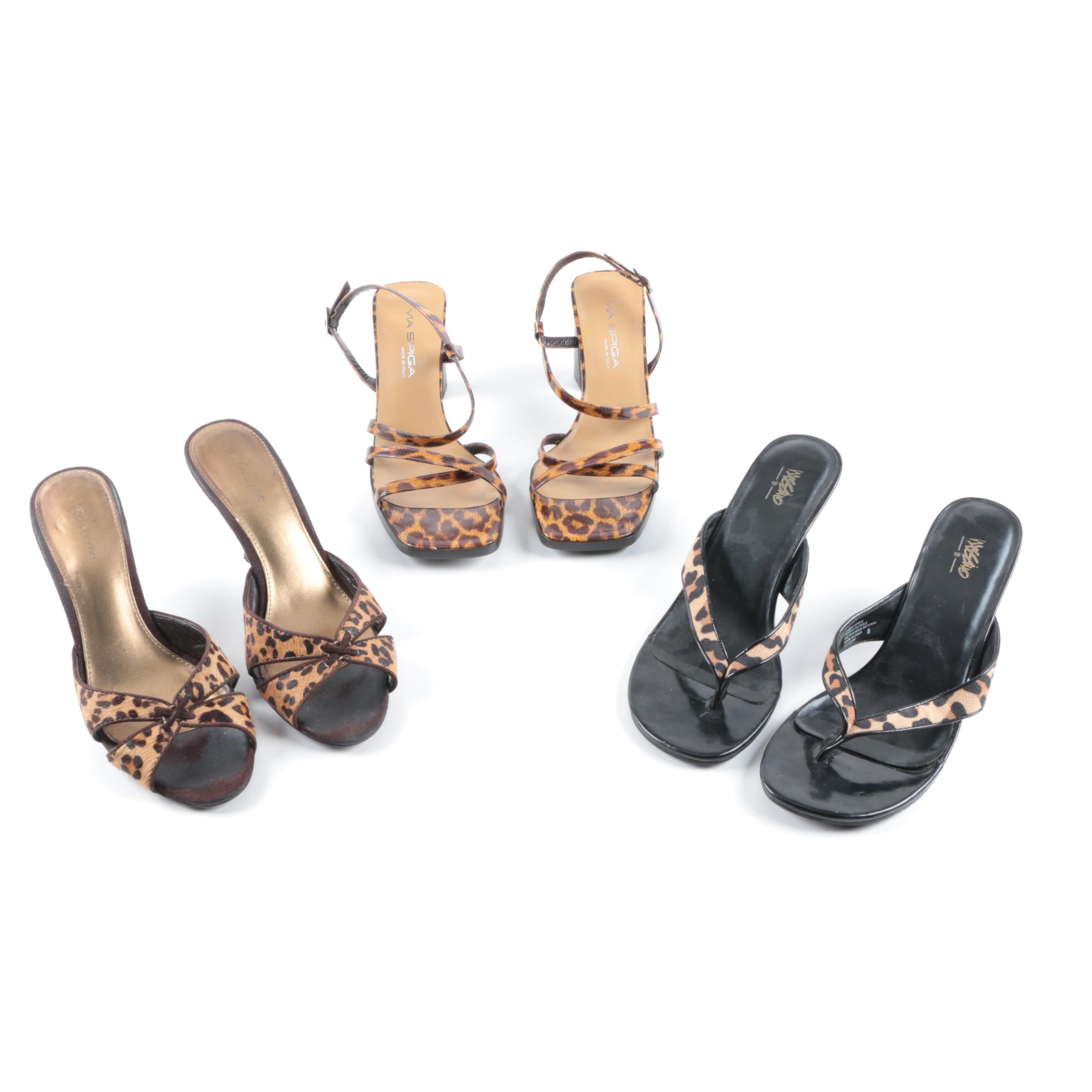 Women's High Heeled Sandals Including Liz Claiborne