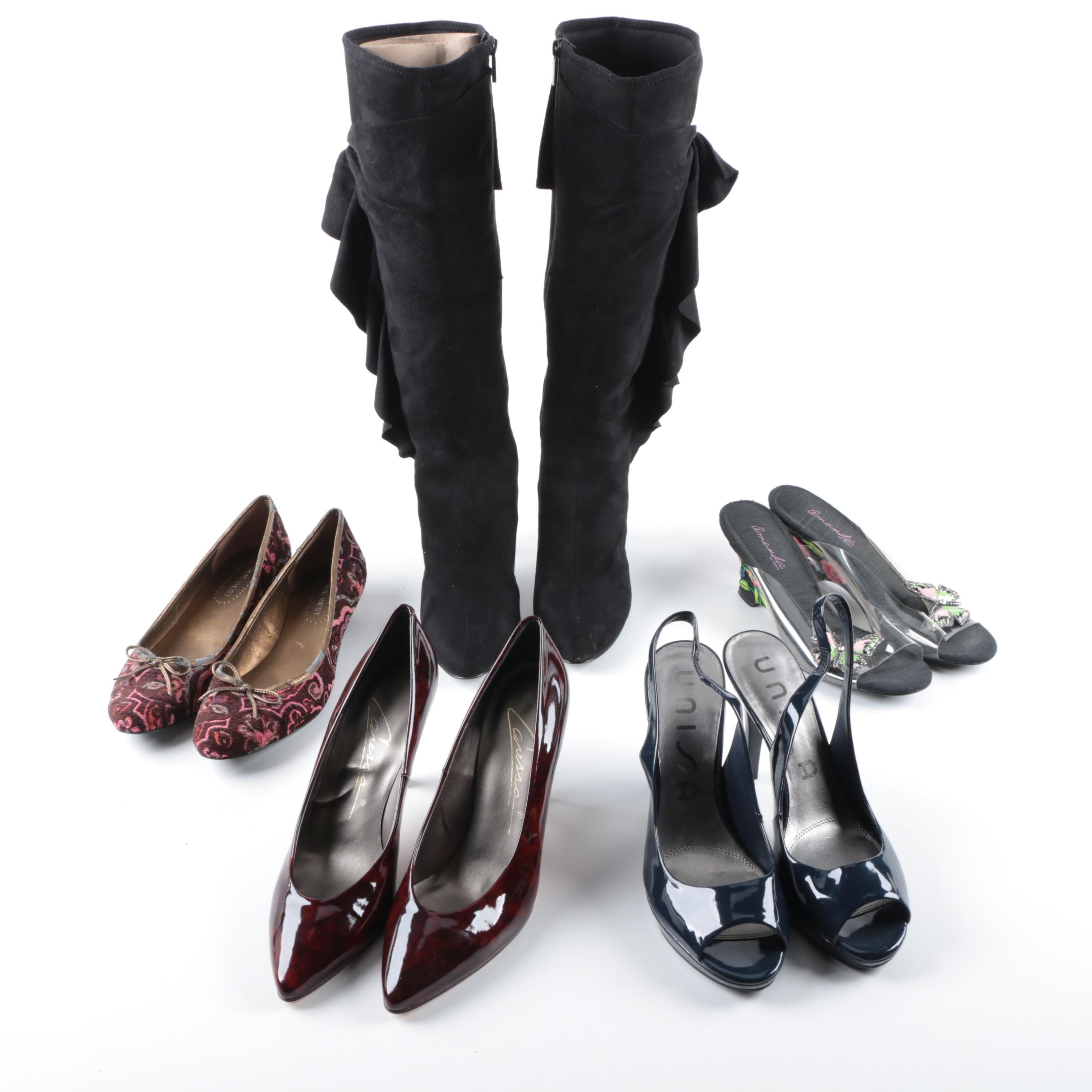 Women's Boots, Heels, and Wedges