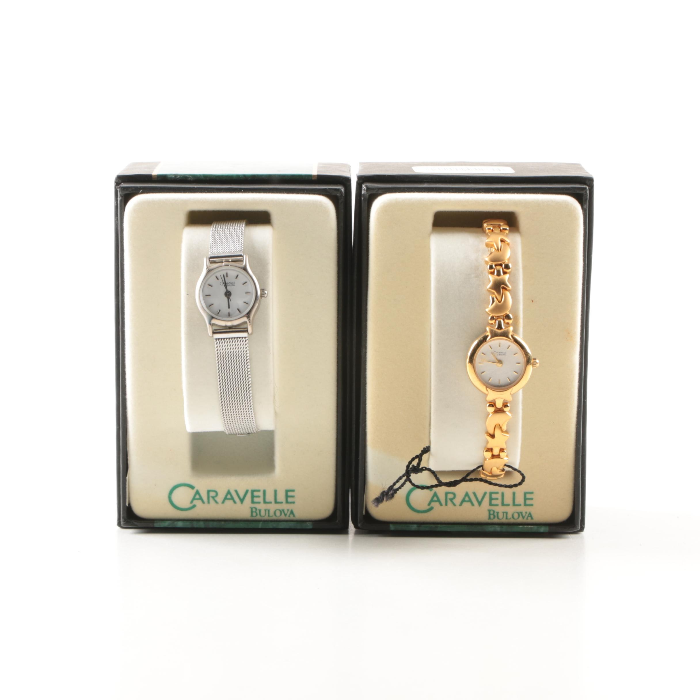 Two Women's Vintage  Caravelle Watches