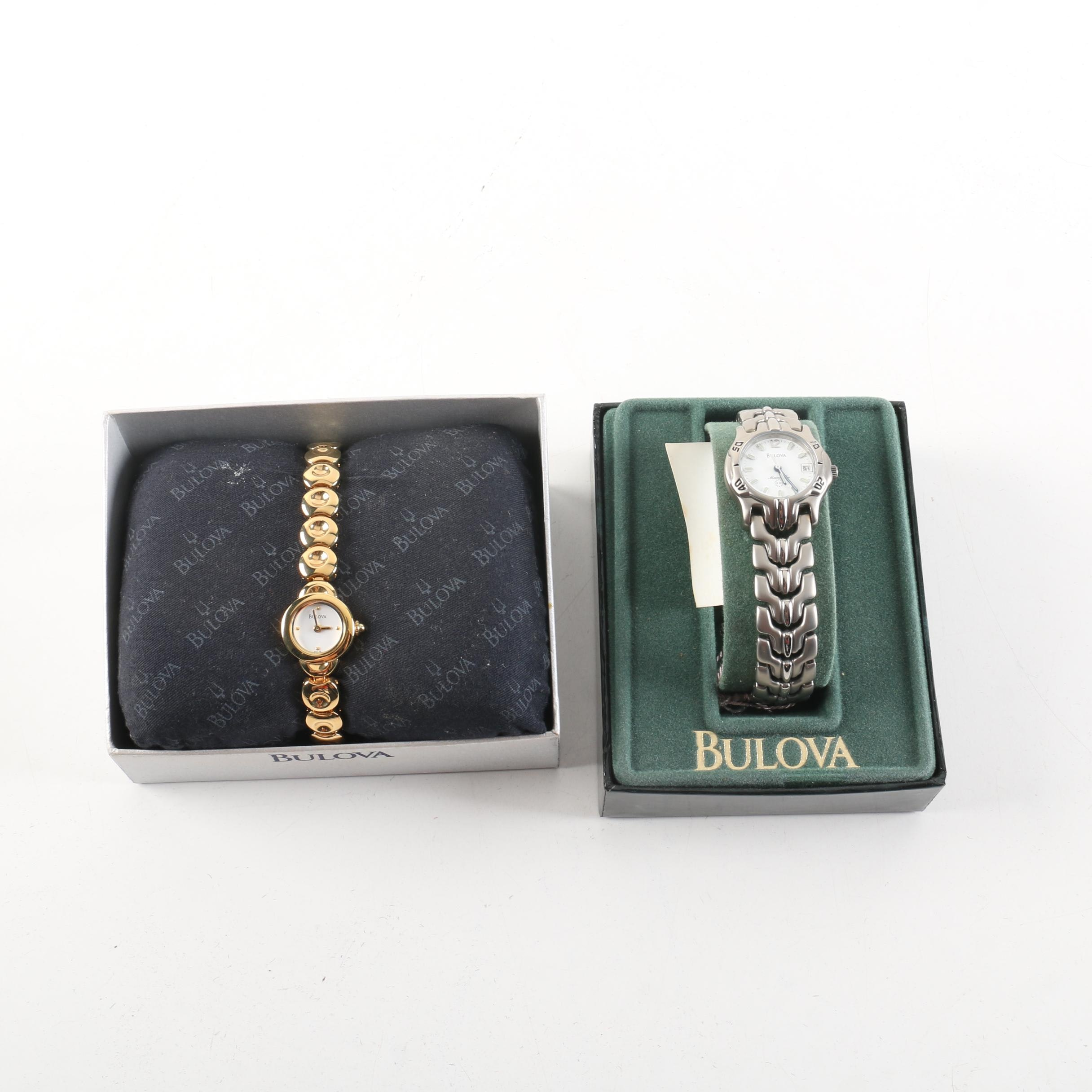 Two Bulova Watches for Women