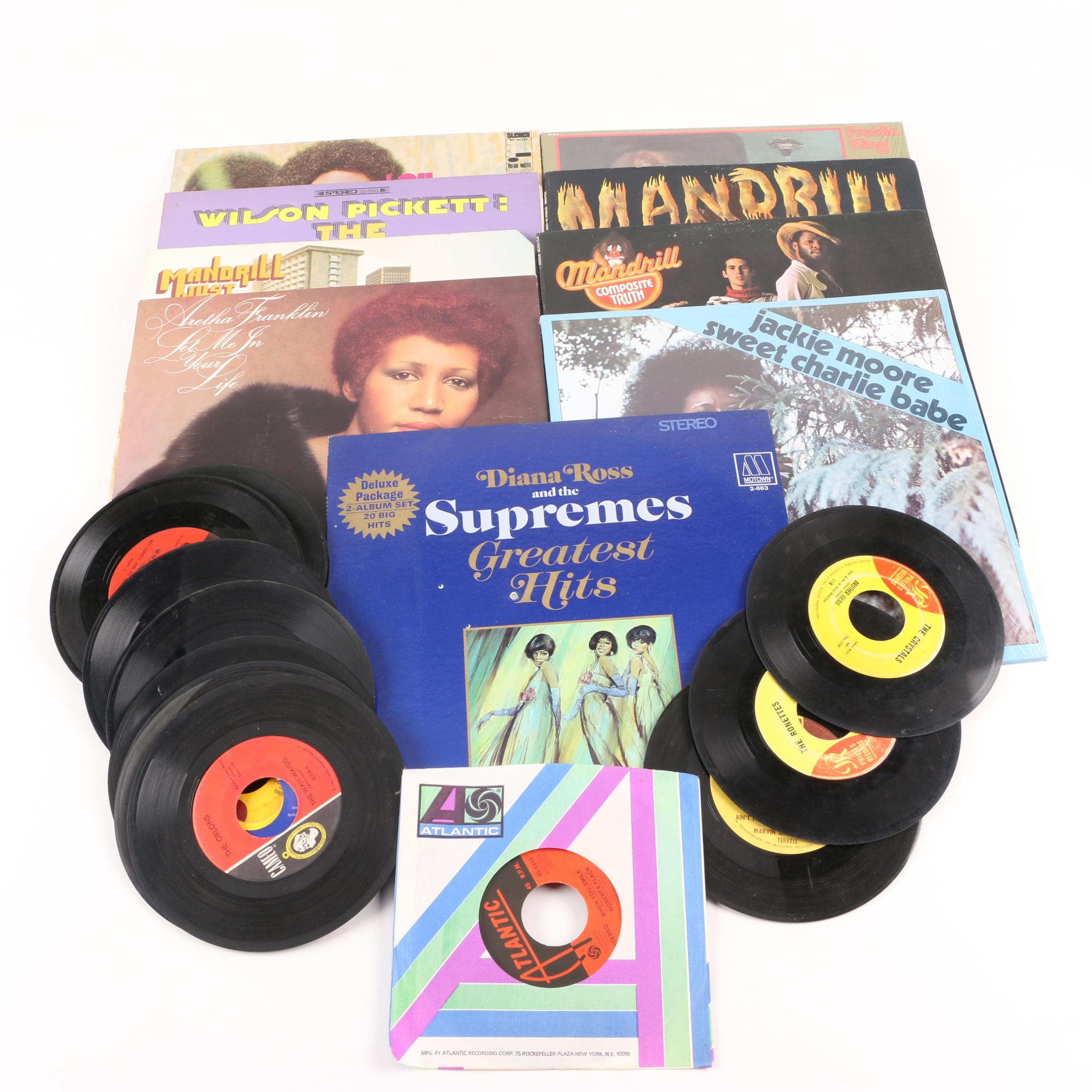Soul, Jazz, Blues Records Including Lou Donaldson, Wilson Pickett, Supremes