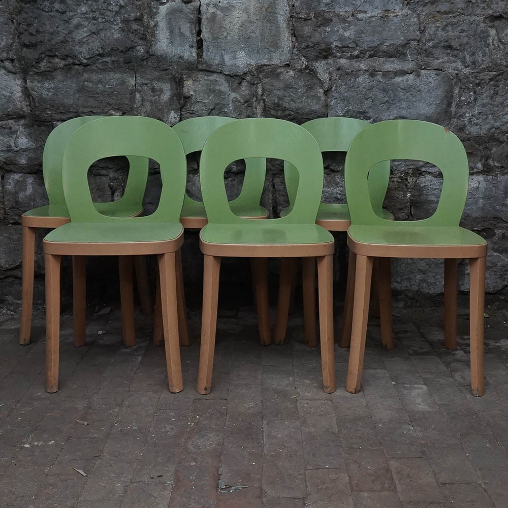 "Modern ""ST6N"" Dining Chairs by Hussl"