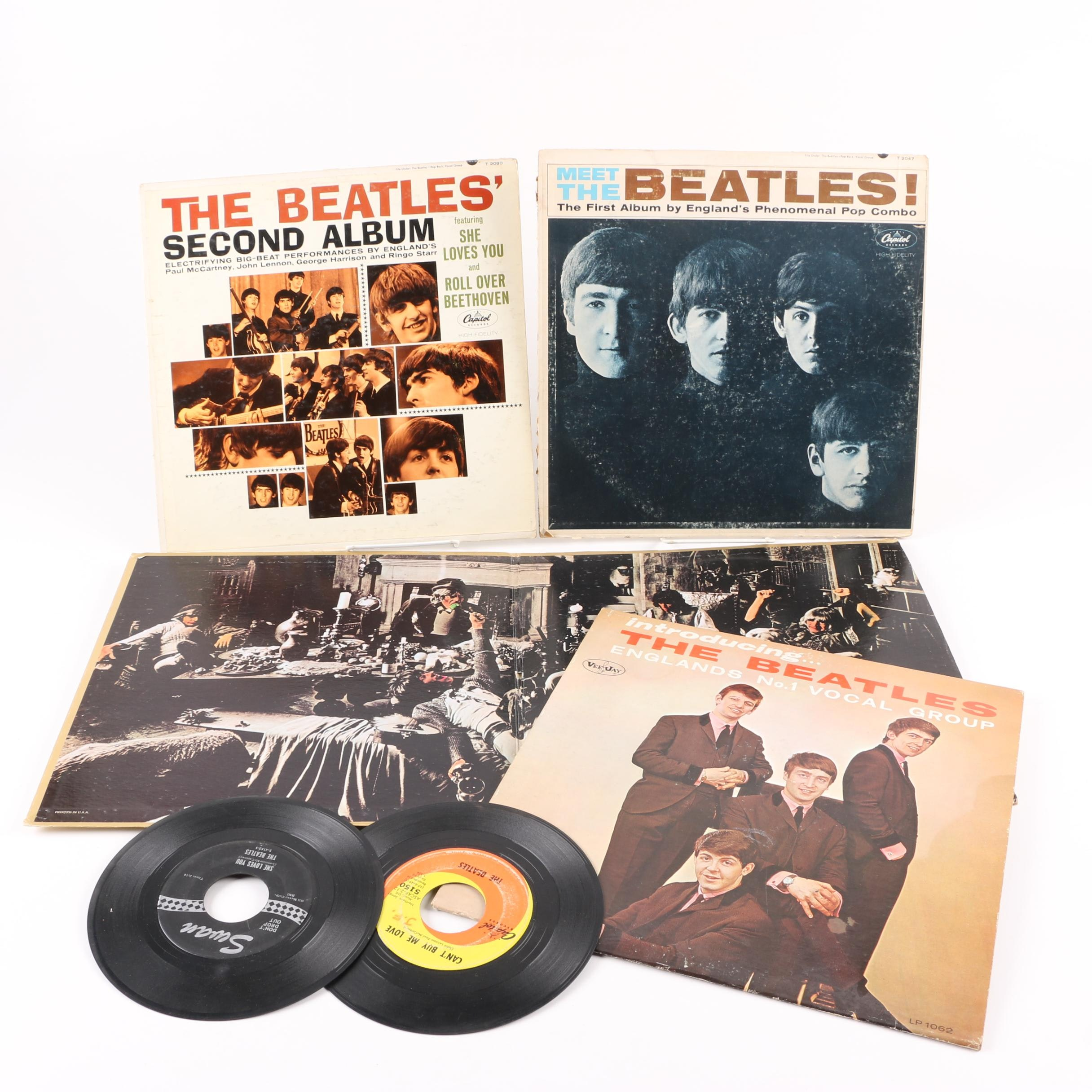 The Beatles and Rolling Stones Records Including Original US Mono Pressings