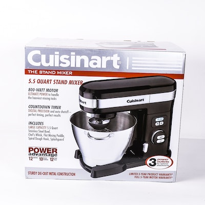 Cuisinart Advantage 5 Quart Stand Mixer Model Sm 55bk