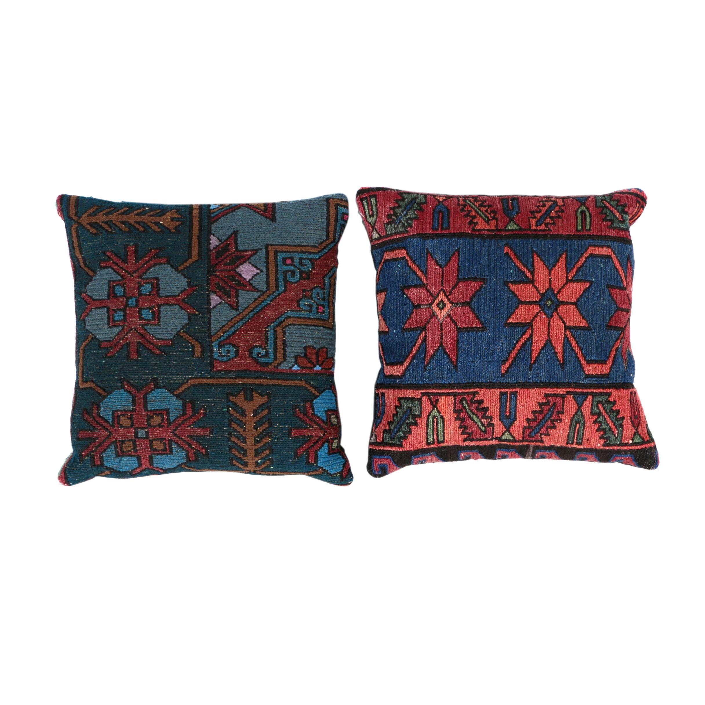 Handwoven Turkish Kilim Throw Pillows