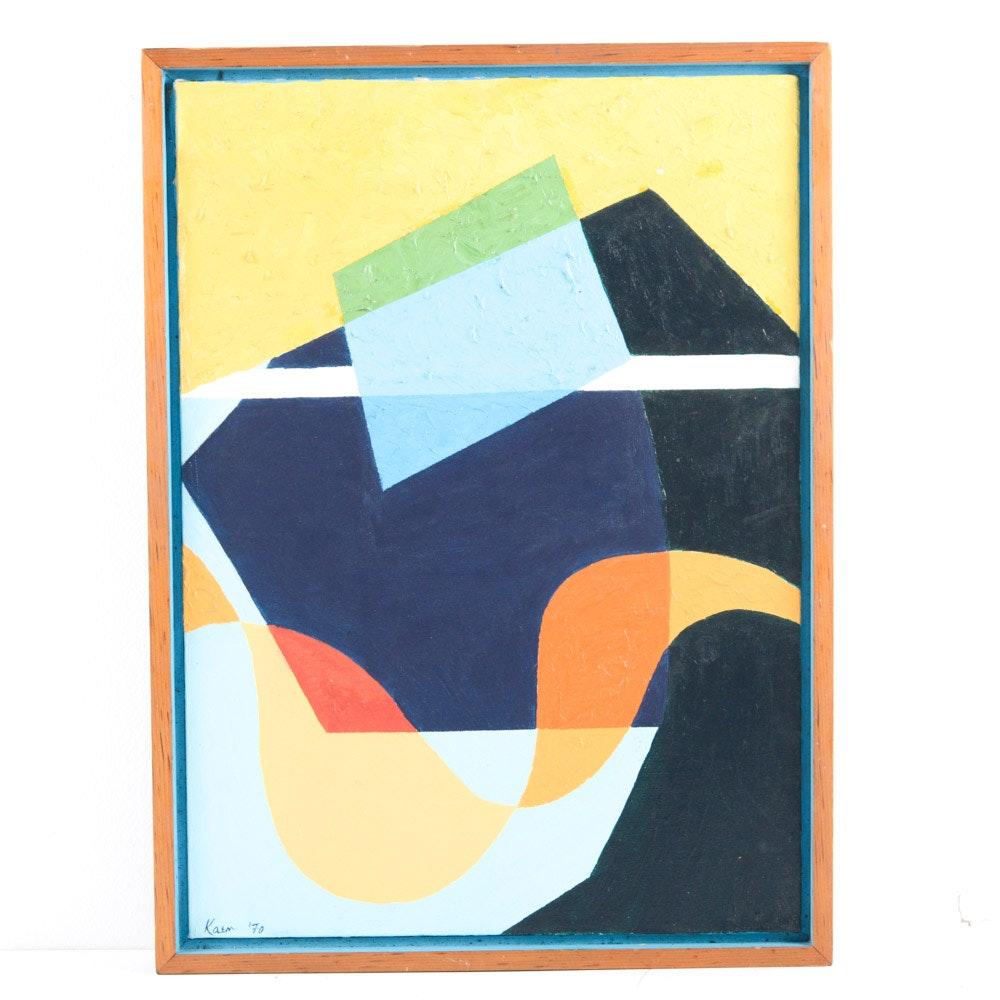 Kaem Acrylic Abstract Painting