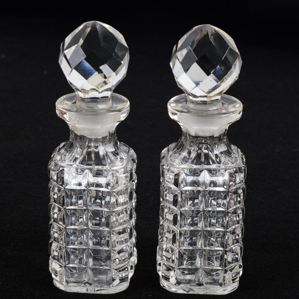 Antique Glass Perfume Bottles