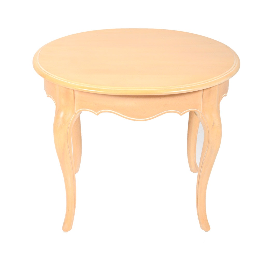 Ethan Allen French Provincial Style Side Table