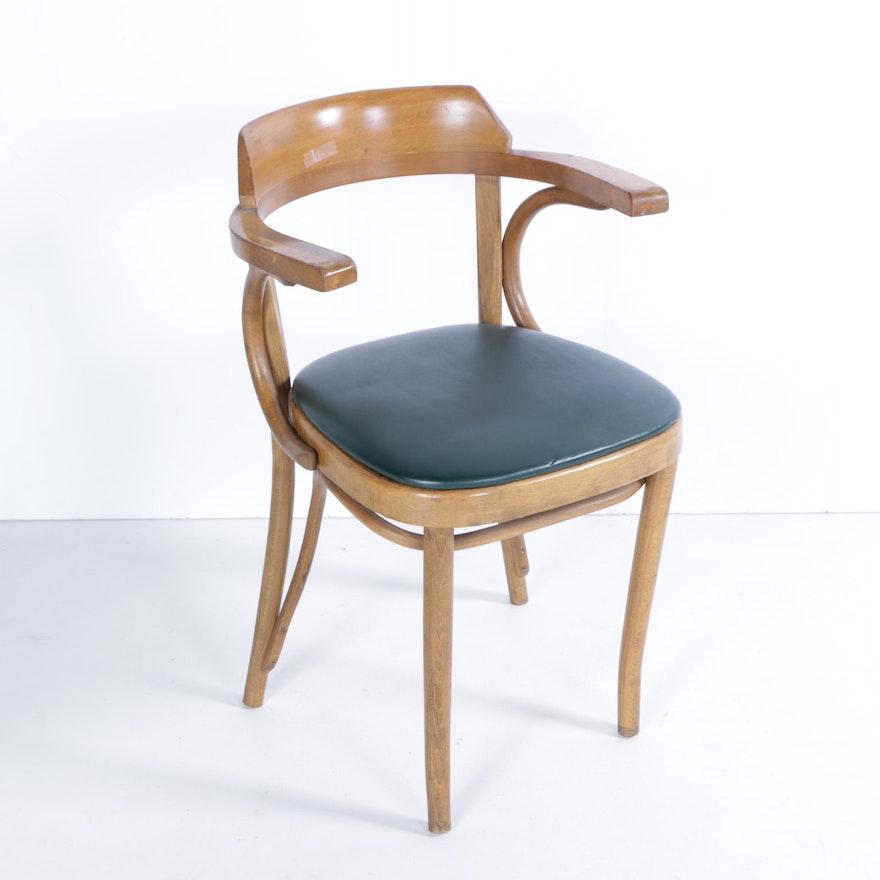 Mid Century Modern Armchairs: Mid Century Modern Bentwood Armchair