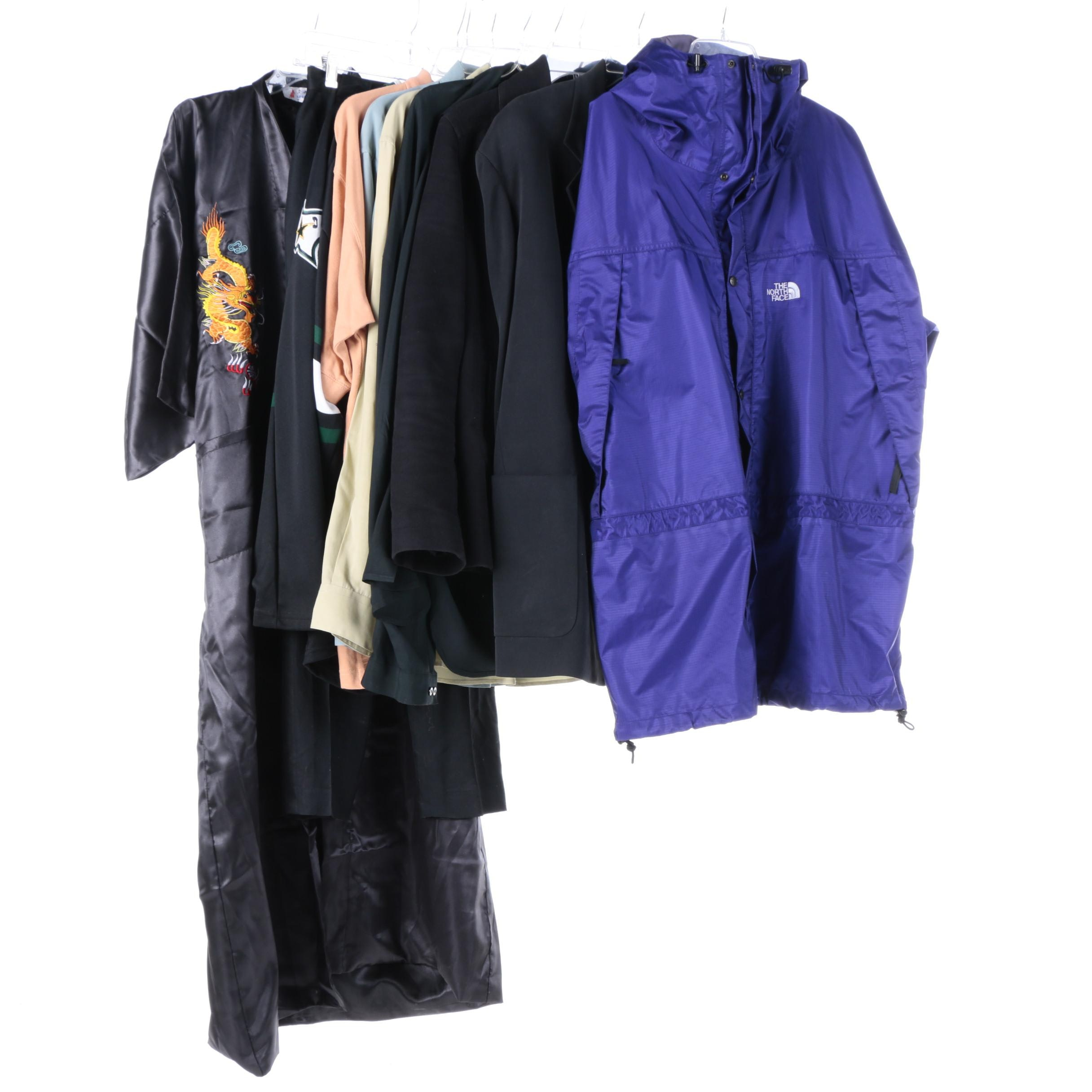 Men's and Women's Clothing Including The North Face