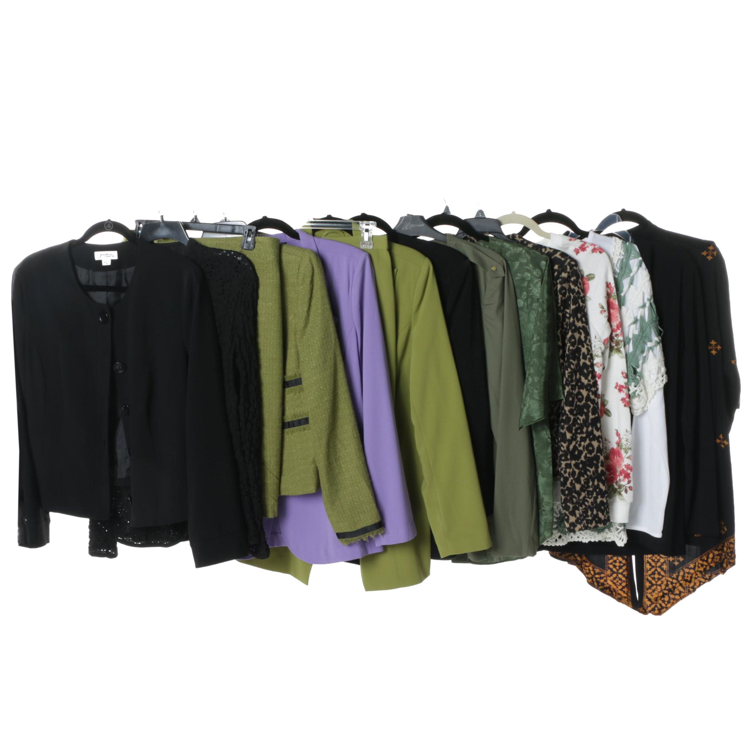 Women's Blouses and Suit Separates Including Eci and Kardashian Kollection