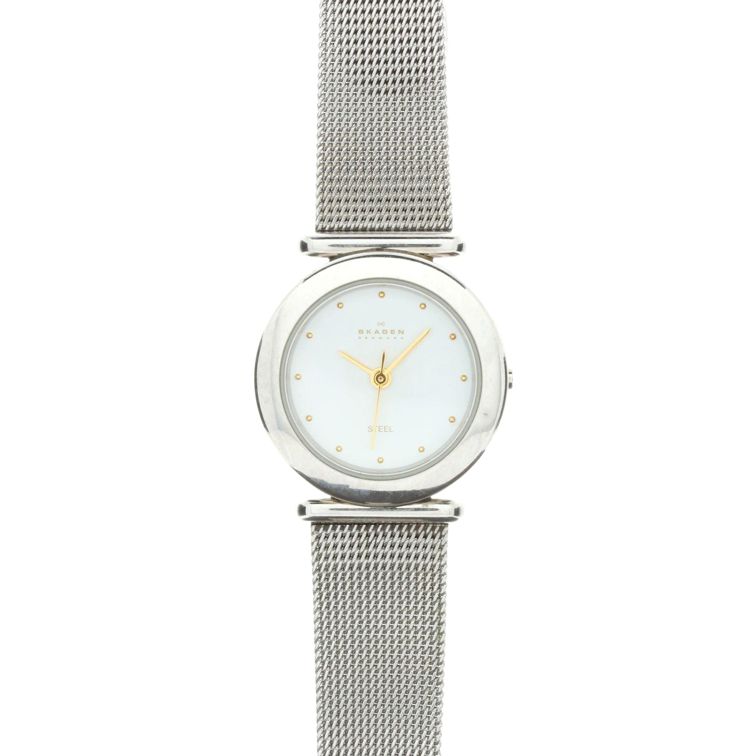 Silver Tone Skagen Wristwatch