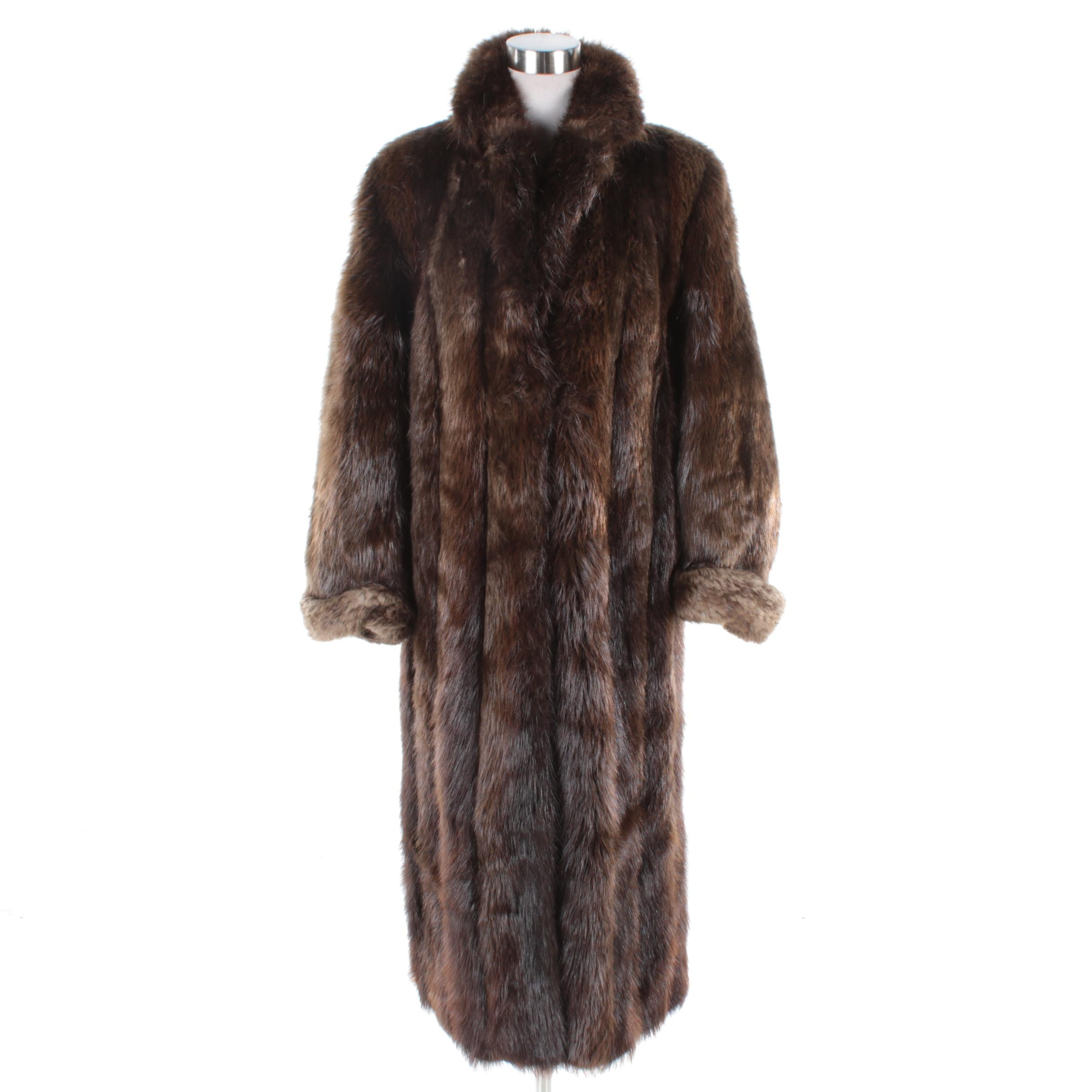 Women's Beaver Fur Coat