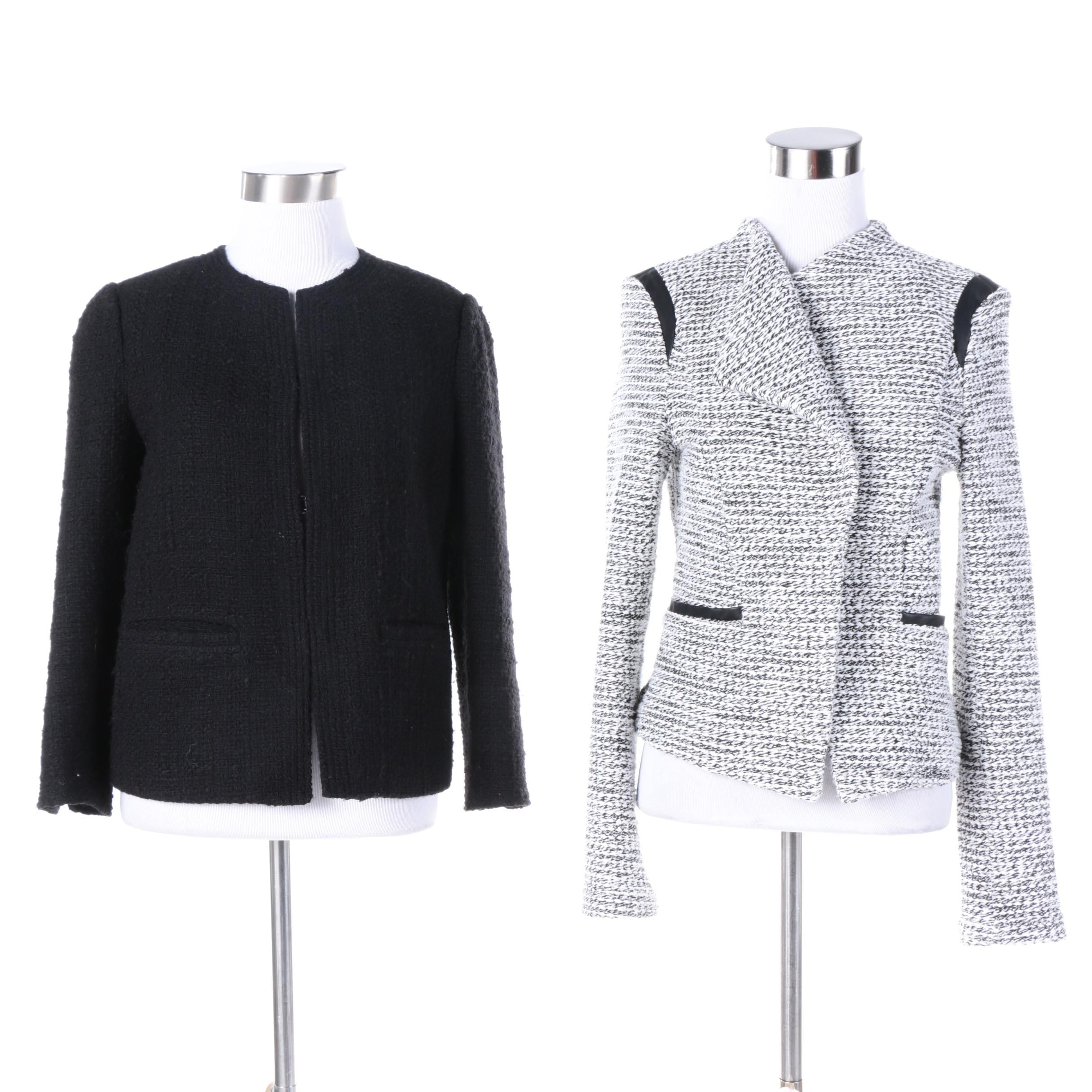 Women's Boucle Jackets Including Vince