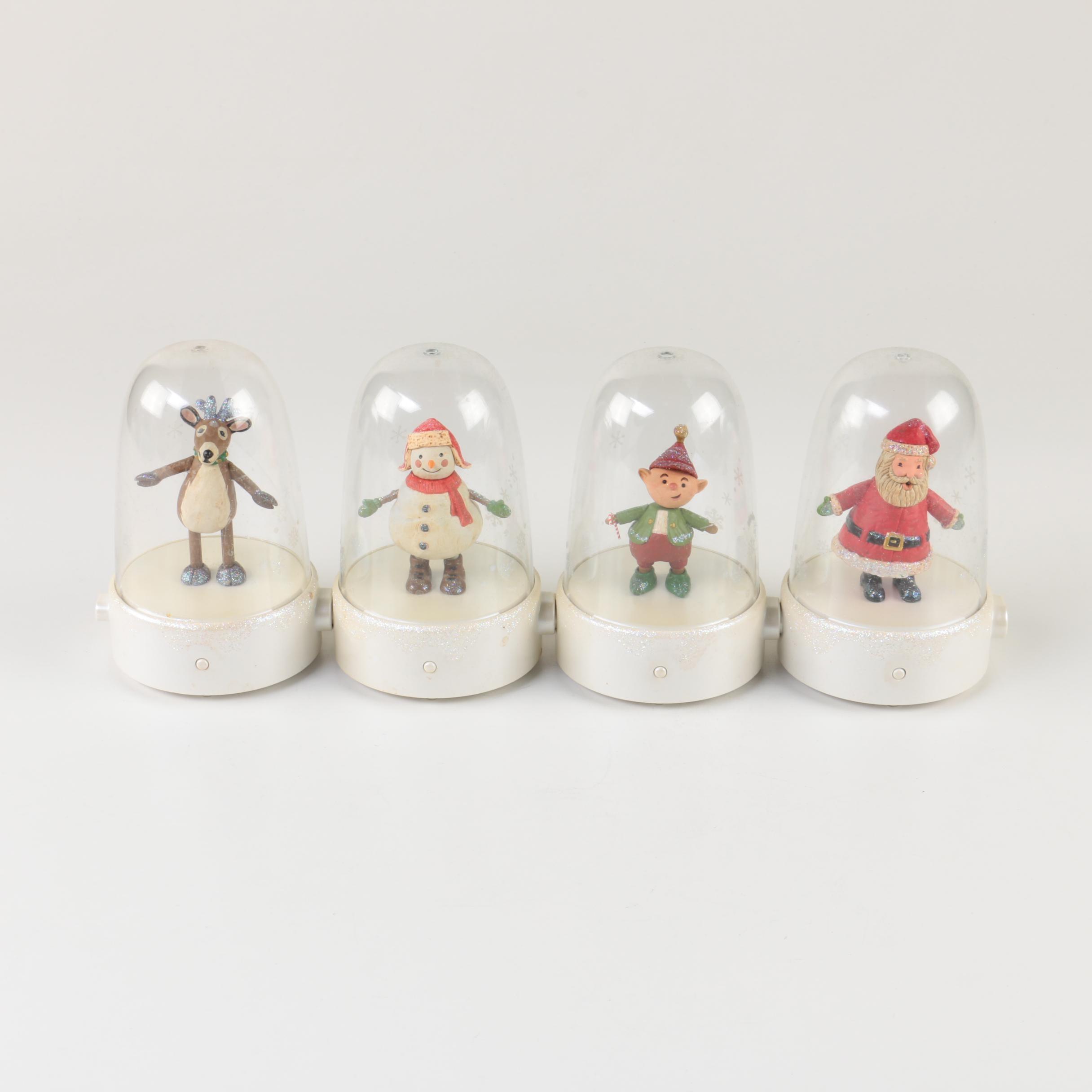 Hallmark Brand Snow Globe Figurines