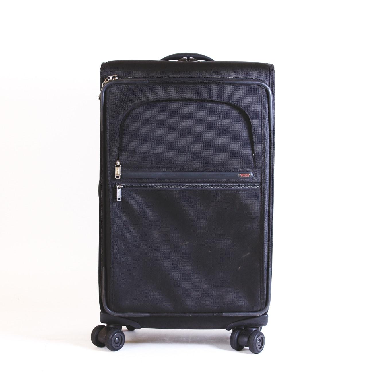 Tumi Black Nylon Roller Bag