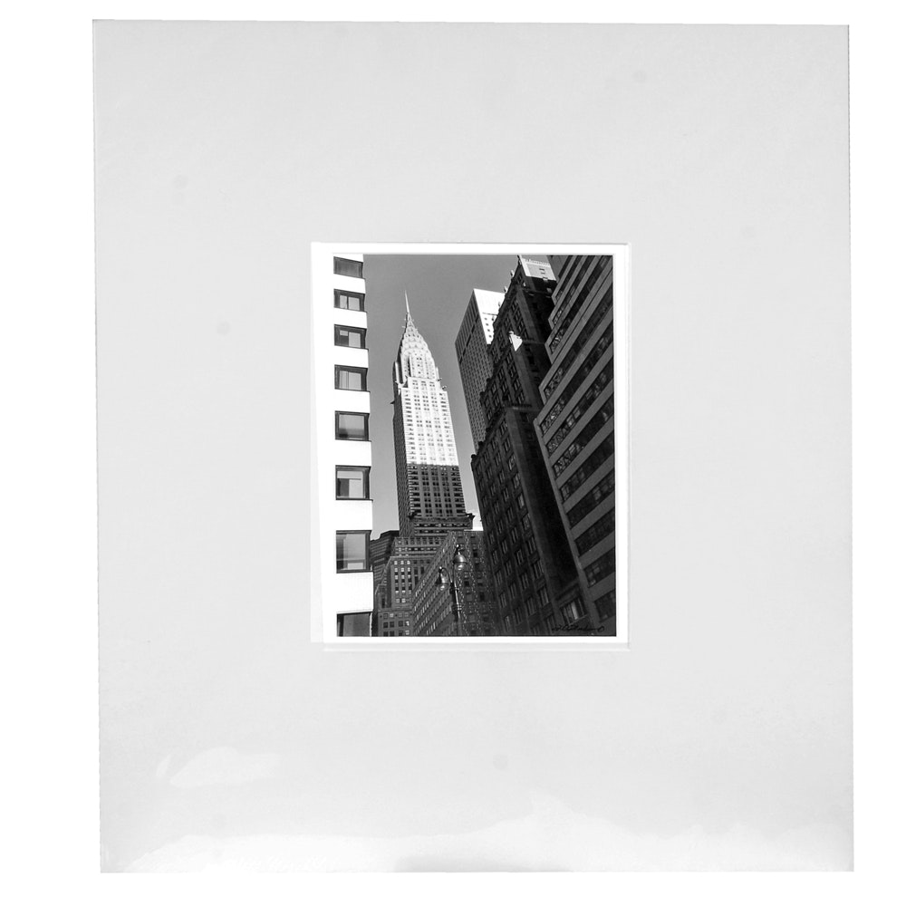 "Laura Denardo Photograph ""Chrysler Building"""