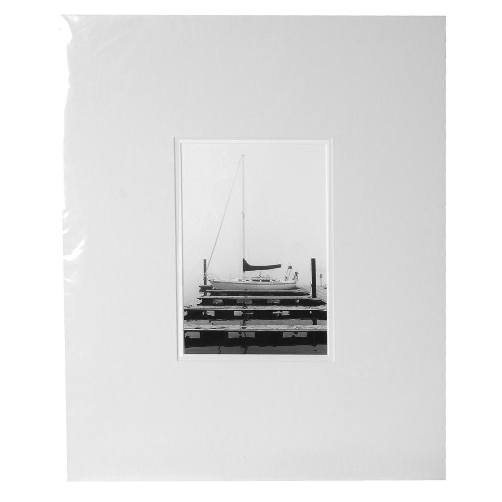 "Laura DeNardo Silver-Gelatin Photographic Print ""Single Mooring"""