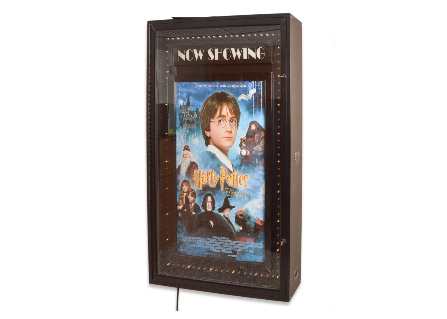"""""""Harry Potter and the Philosopher's Stone"""" Lighted Film Display"""