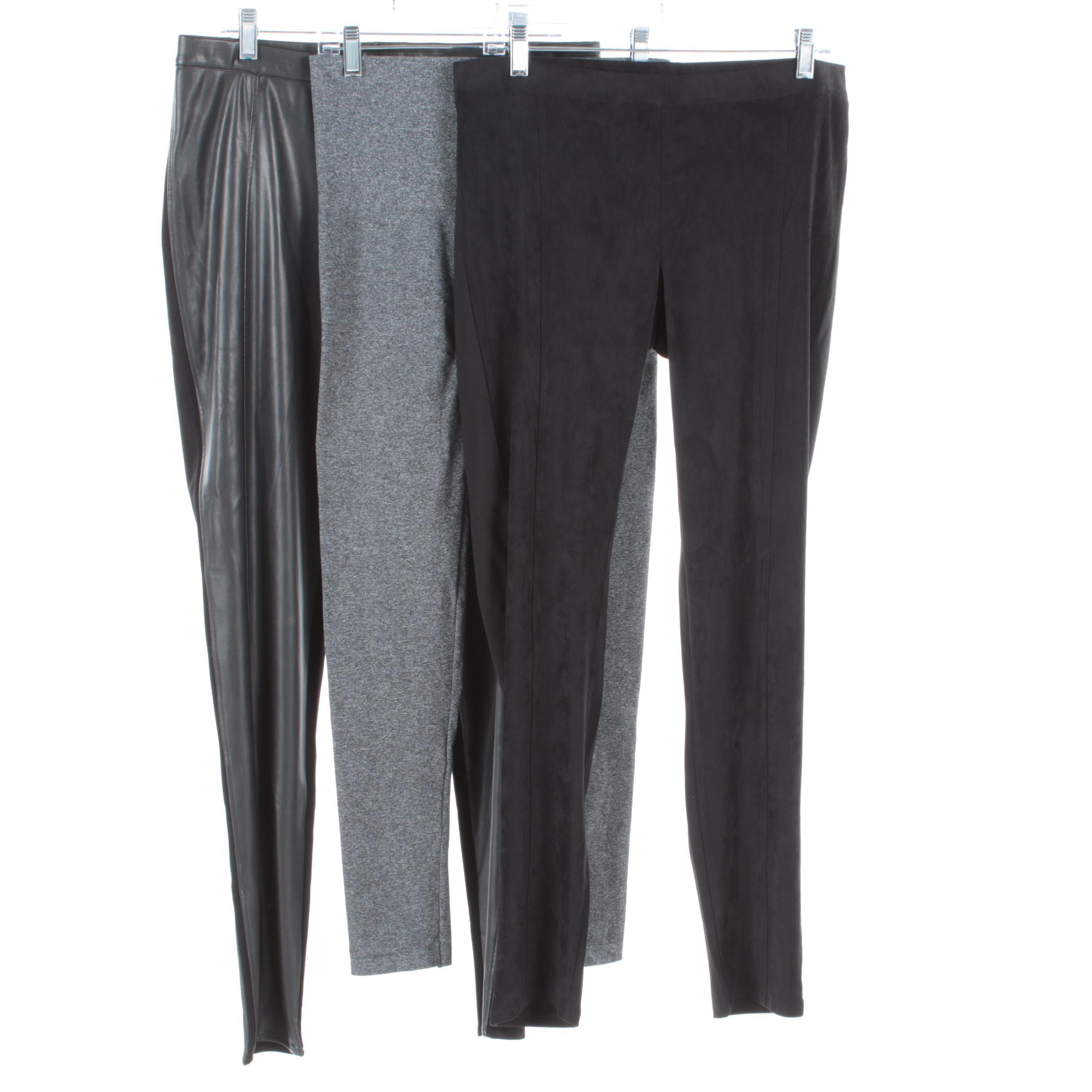 Women's Pants and Leggings Including Vegan Leather