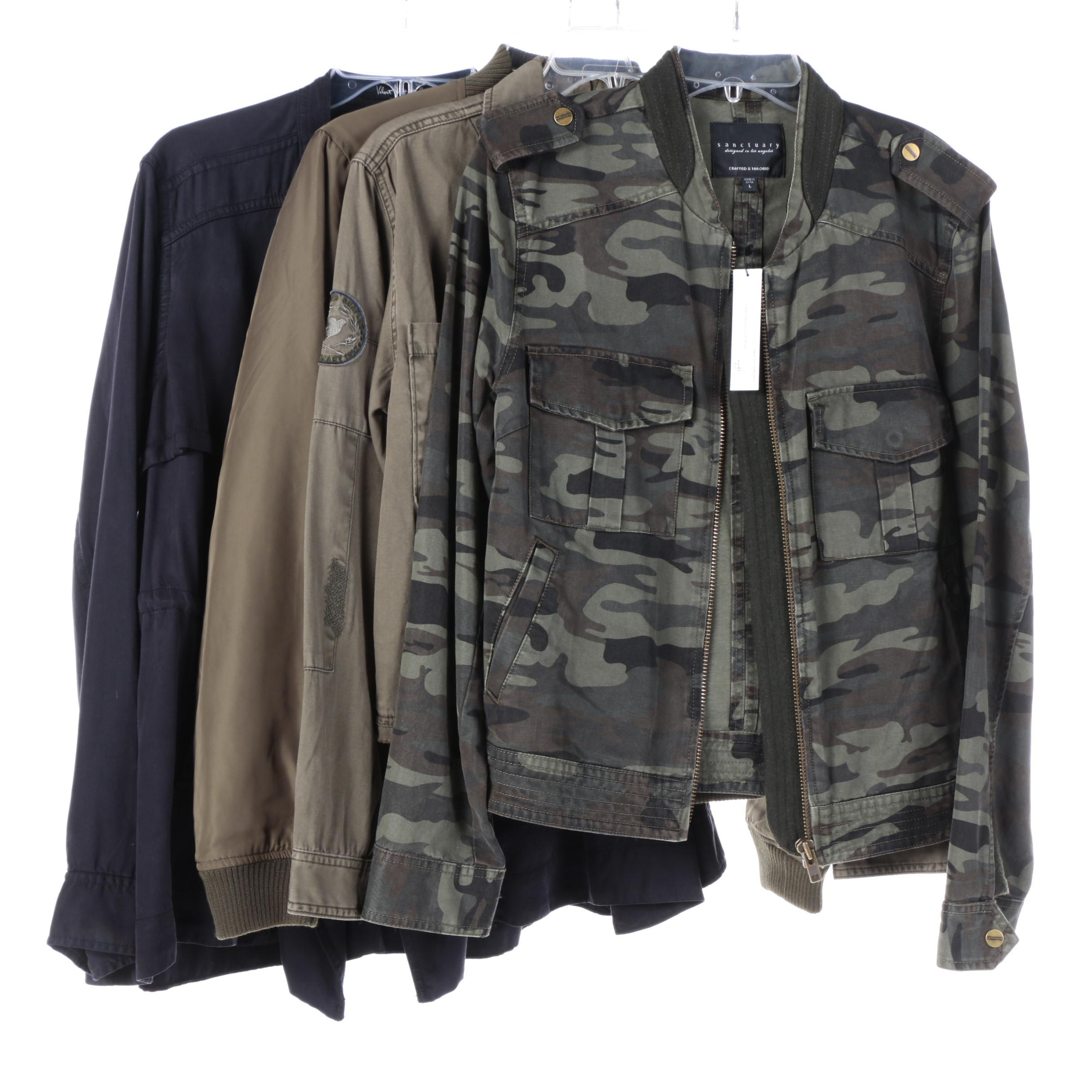 Women's Casual Cotton Jackets by Sanctuary and Velvet Heart