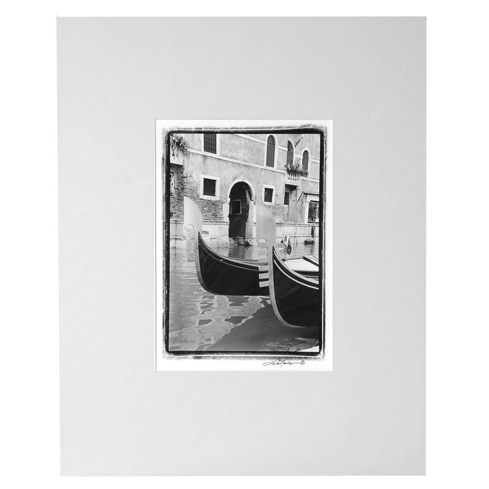 """Laura DeNardo Photograph """"Italian Gondola III"""""""