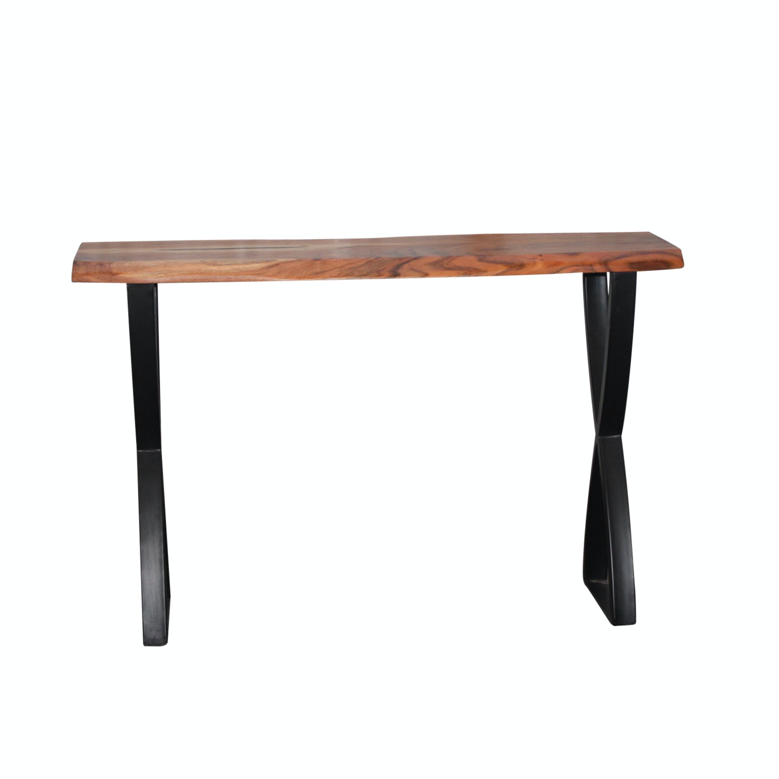 Exotic Hardwood Console Table