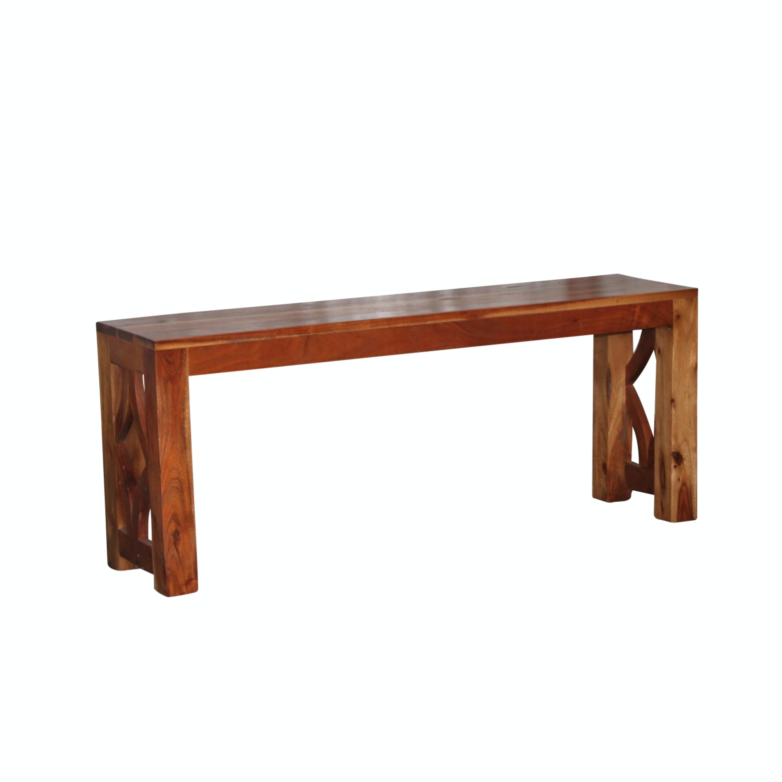 Exotic Hardwood Bench