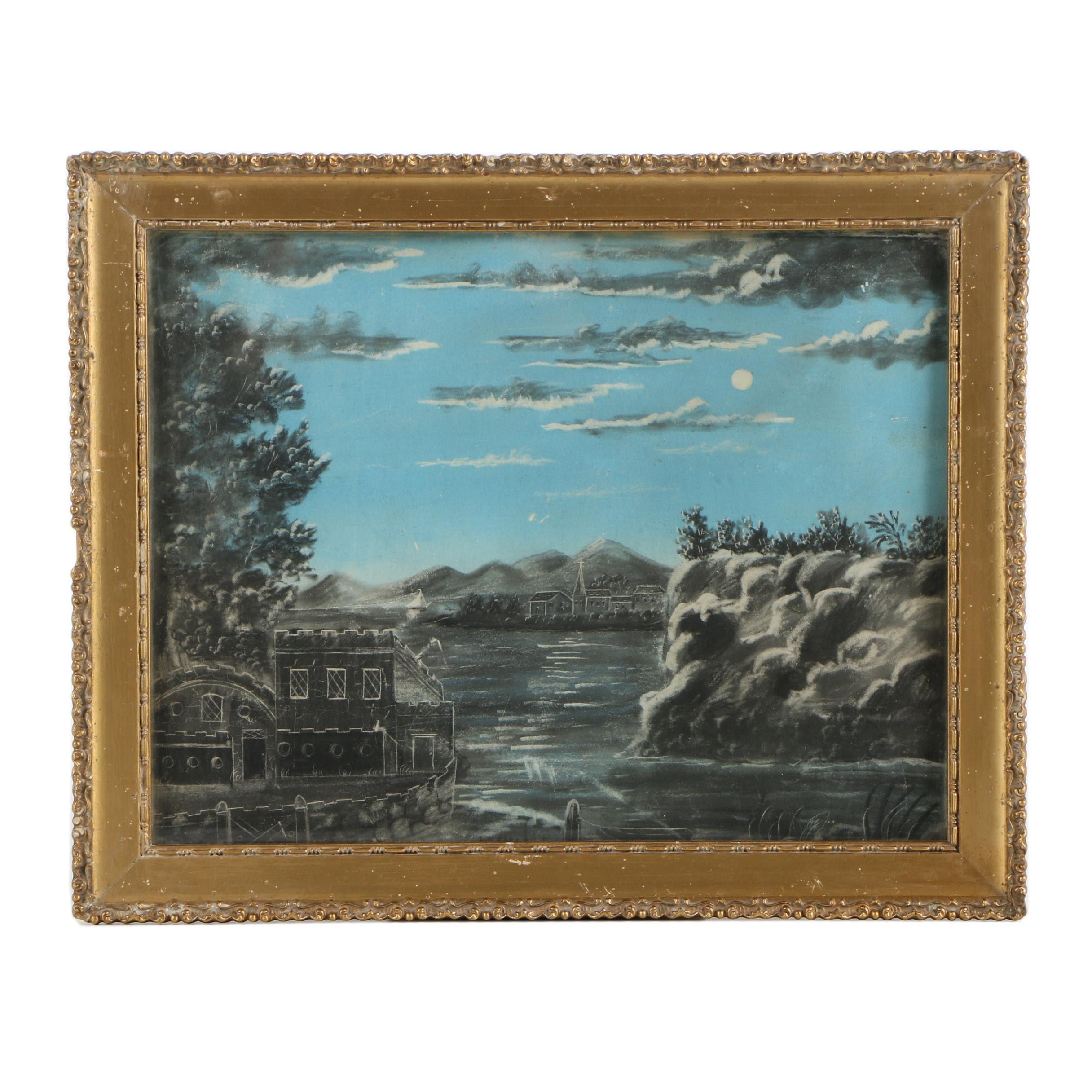 "Late-19th Century ""Fancy Sketch"""