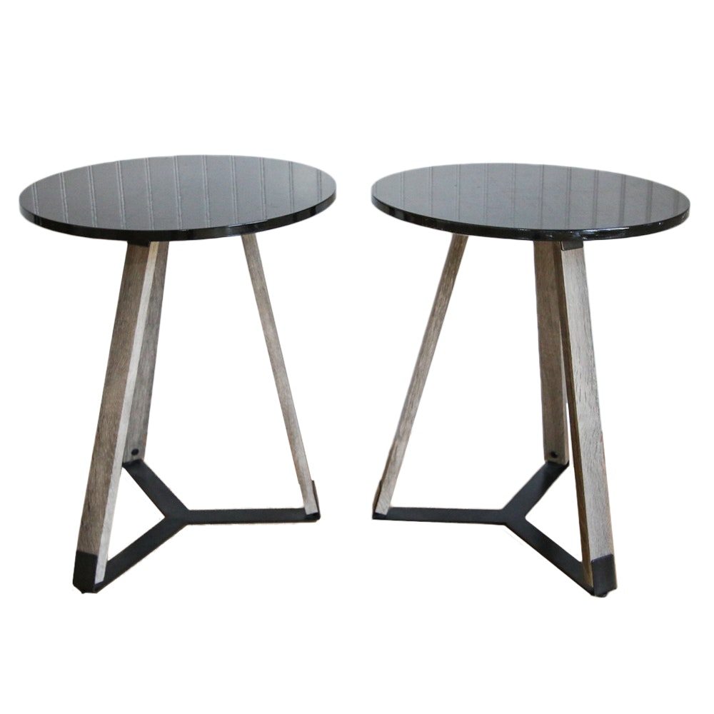 Pair of Modernist Side Tables