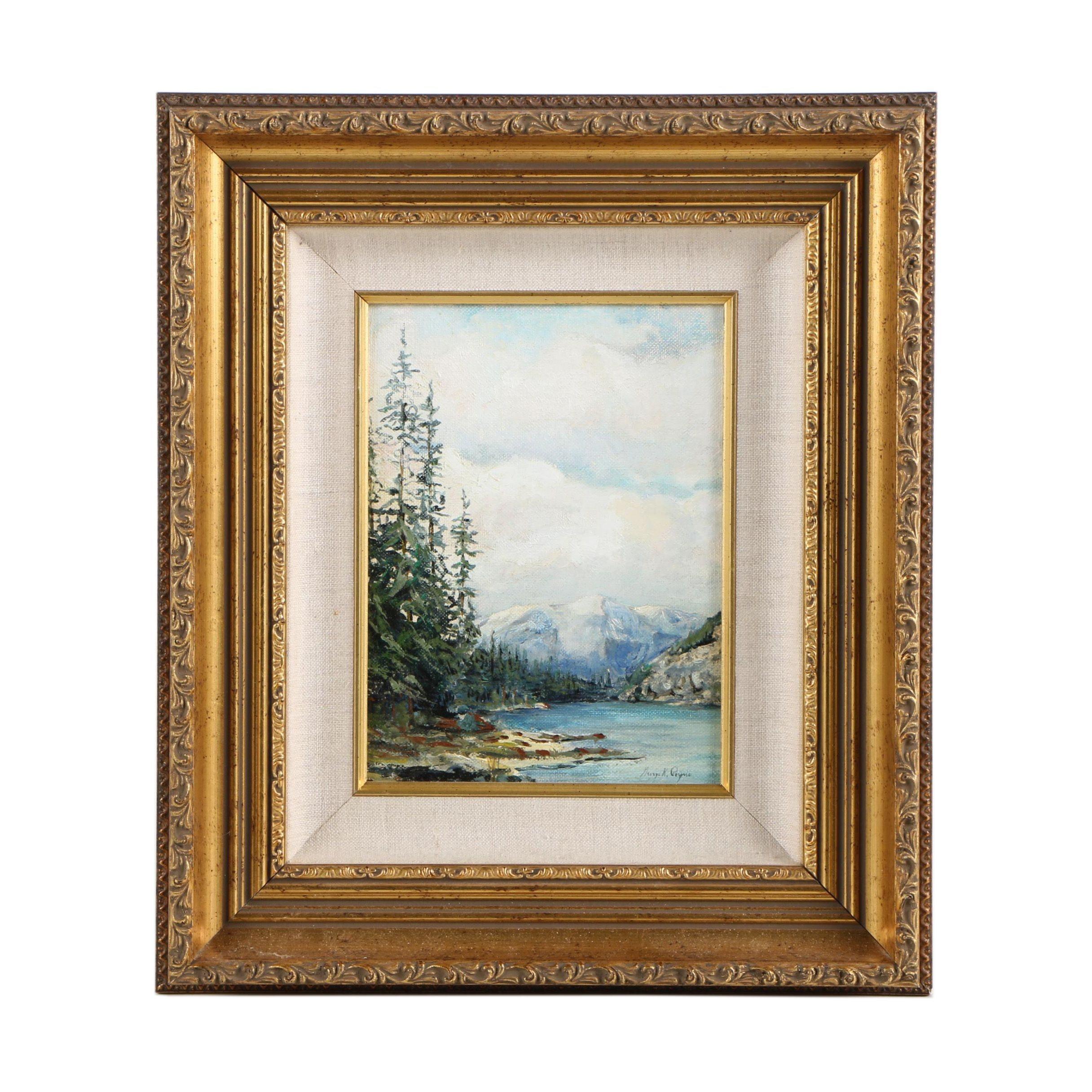 George K. Peyne Oil Painting