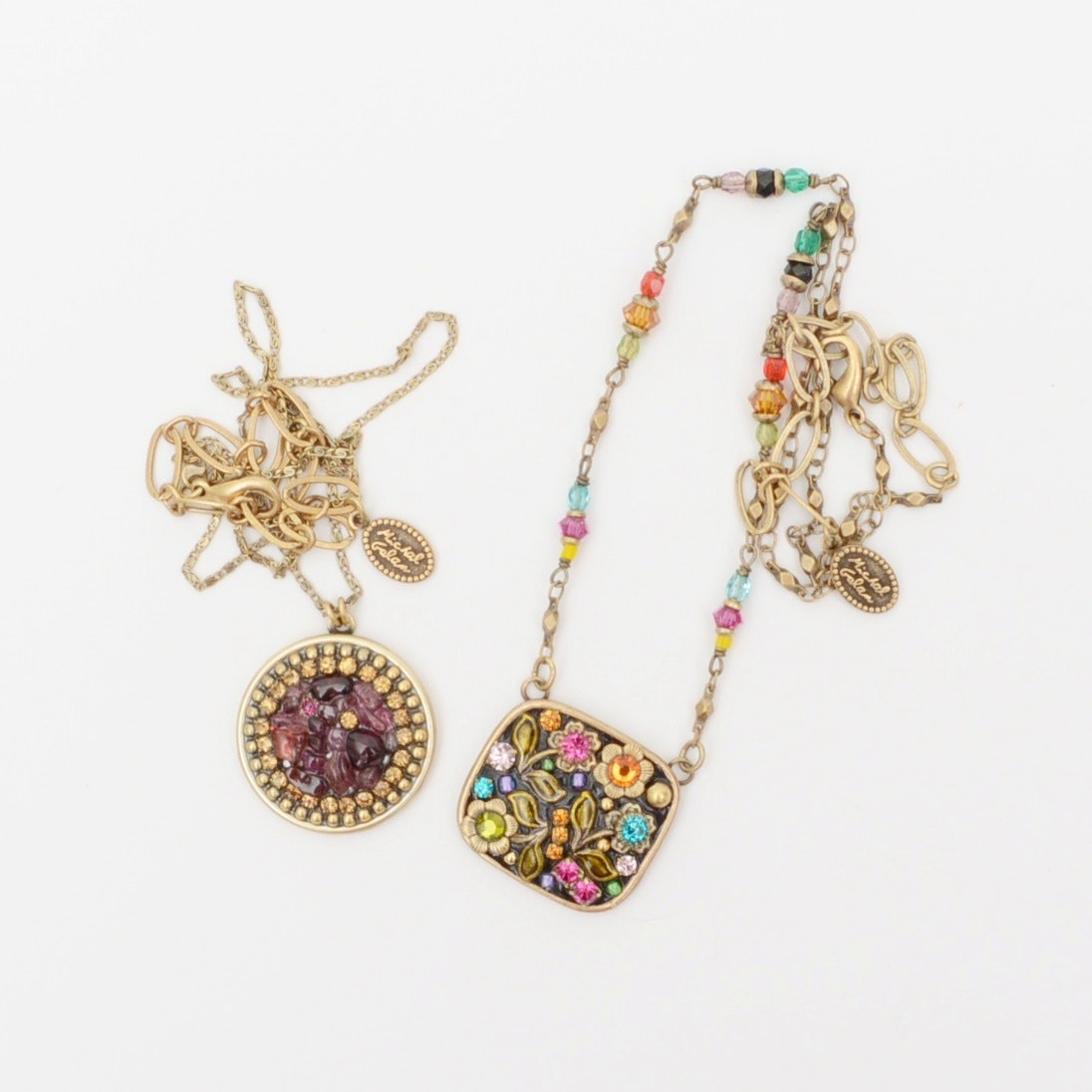 Pair of Vintage Michal Golan Necklaces