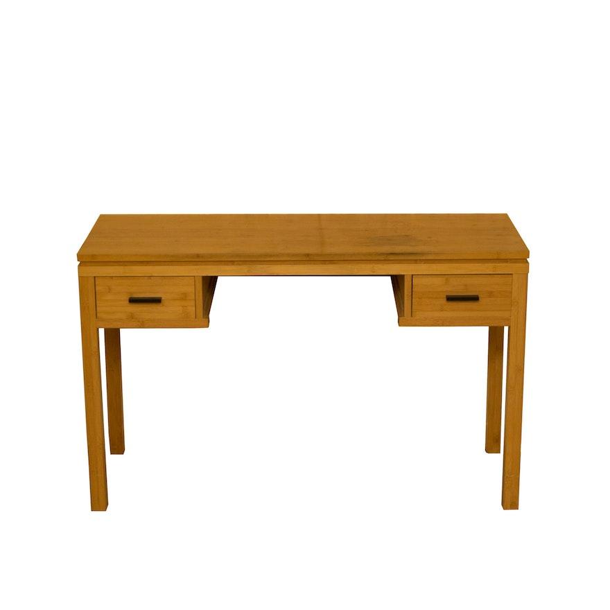Contemporary Light Wooden Desk