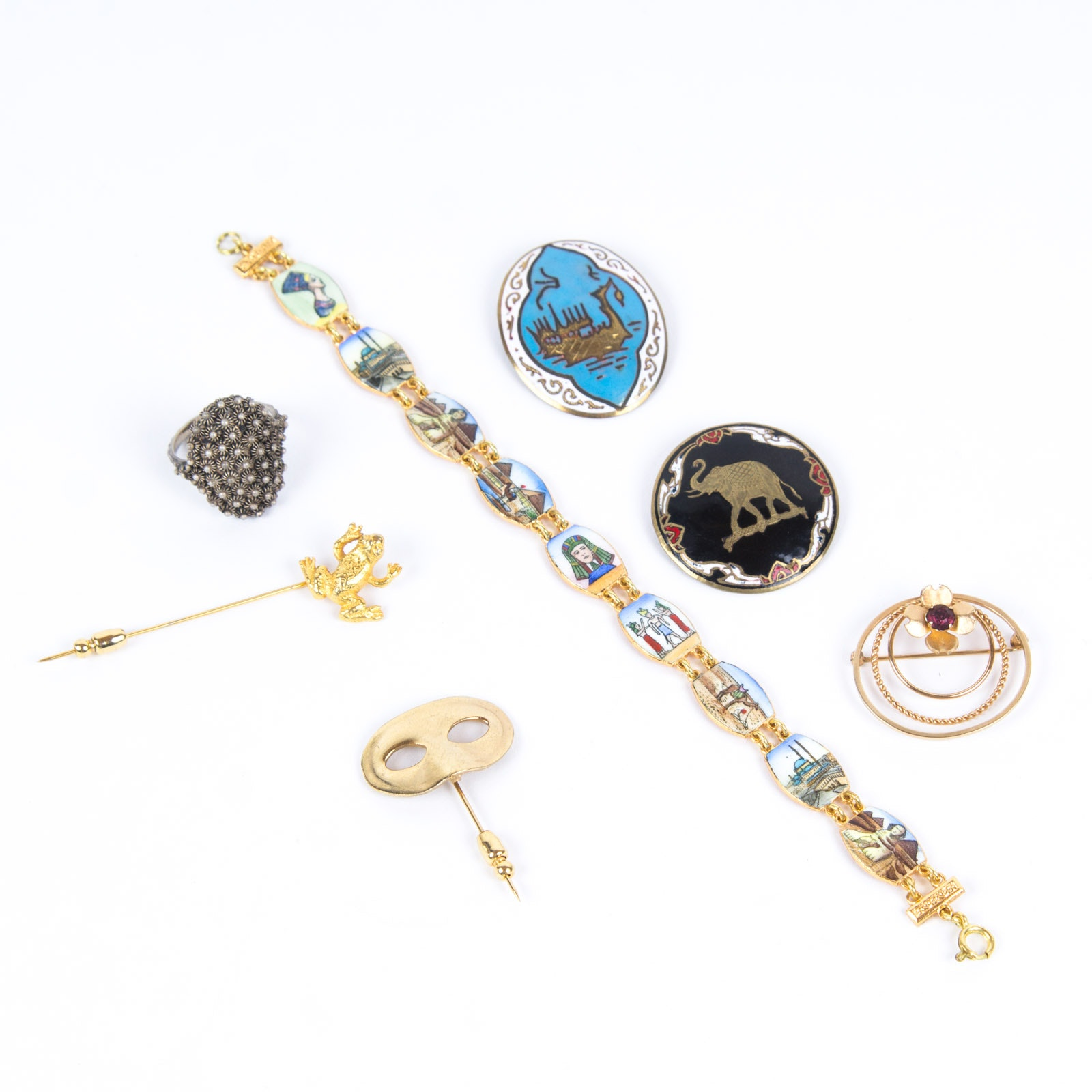 Jewelry Selection Including Sterling Silver