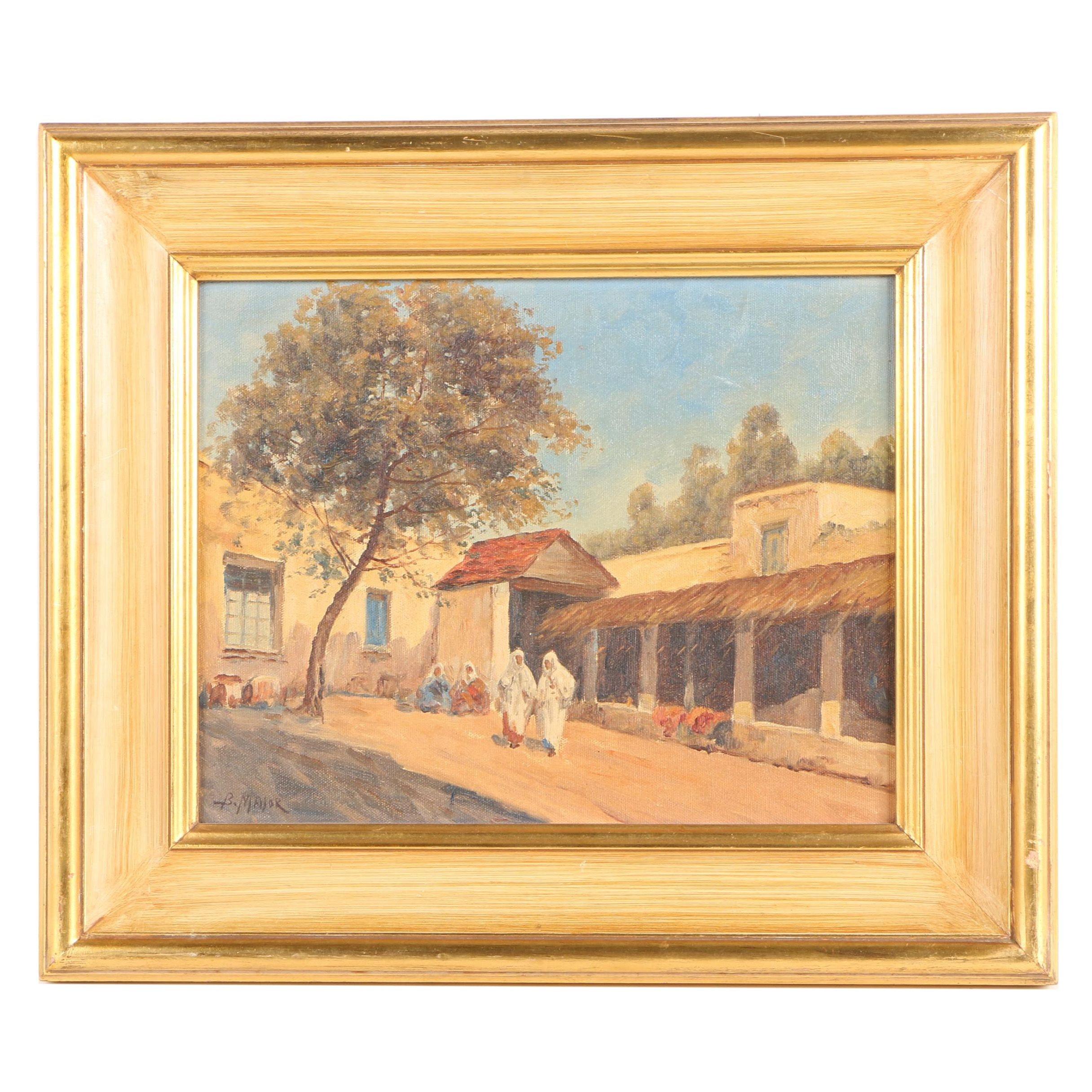 Boris B. Major Oil Painting on Canvas