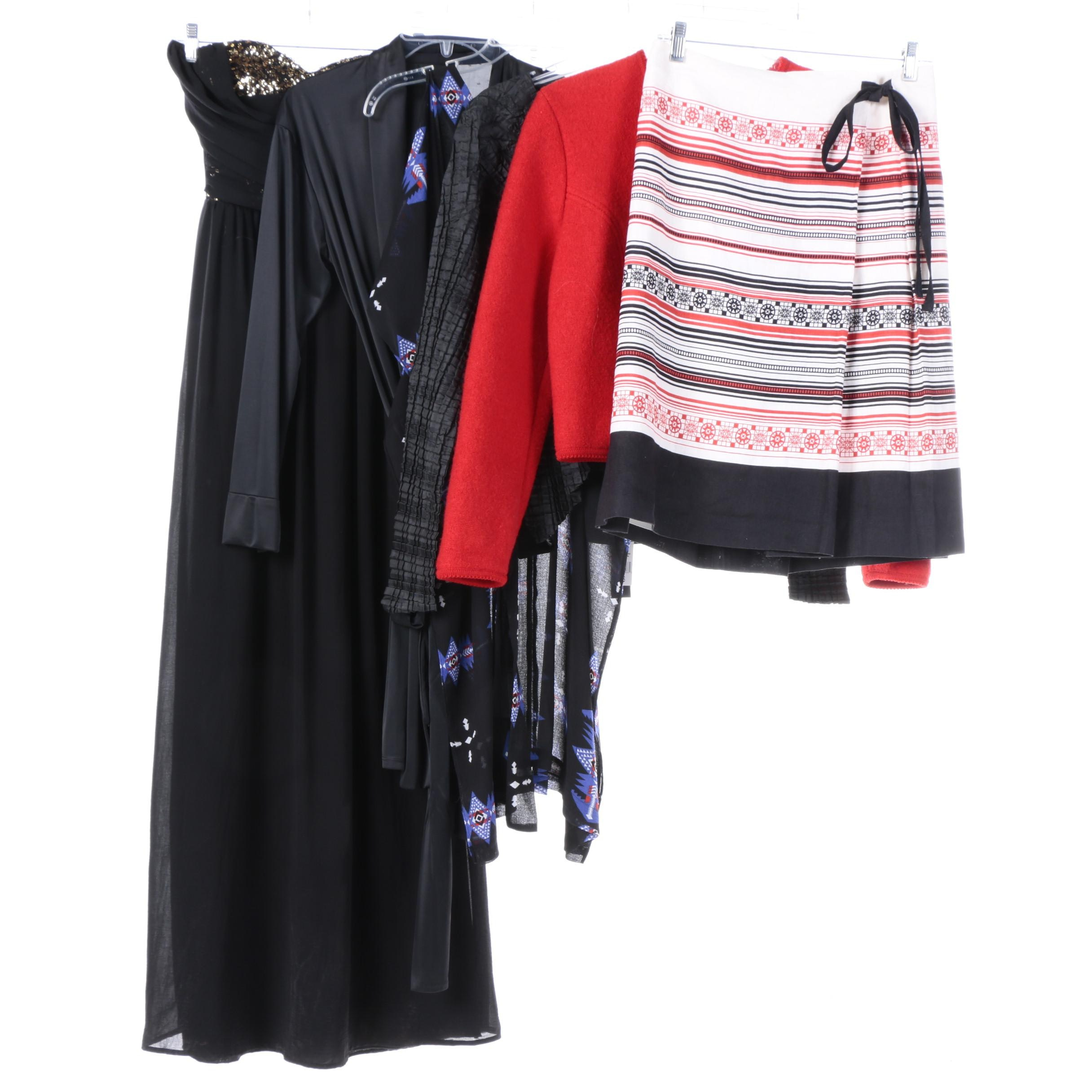 Women's Dresses and Separates Including Geiger, Saks Fifth Avenue