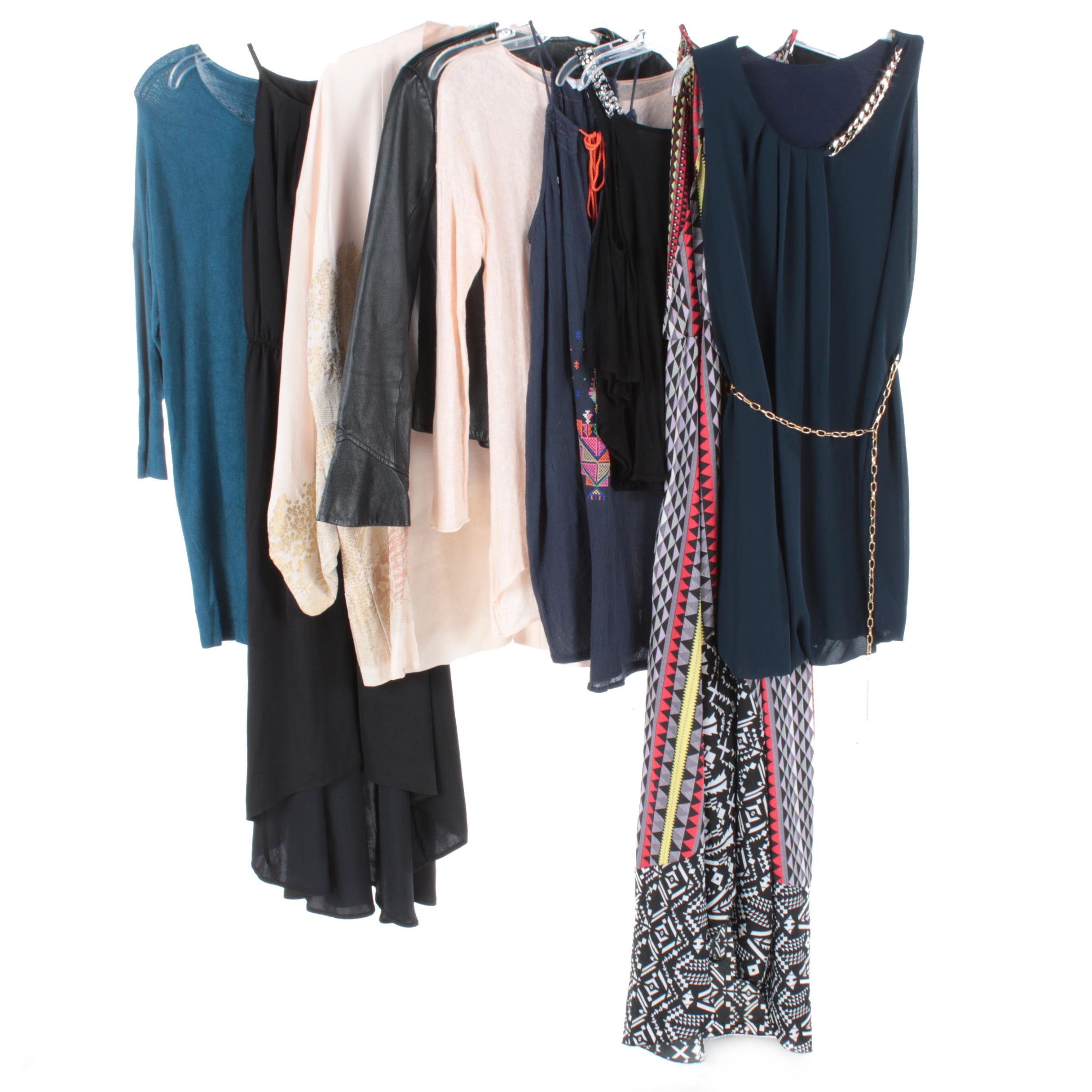 Women's Dresses, Separates and Leather Jacket Including Eileen Fisher