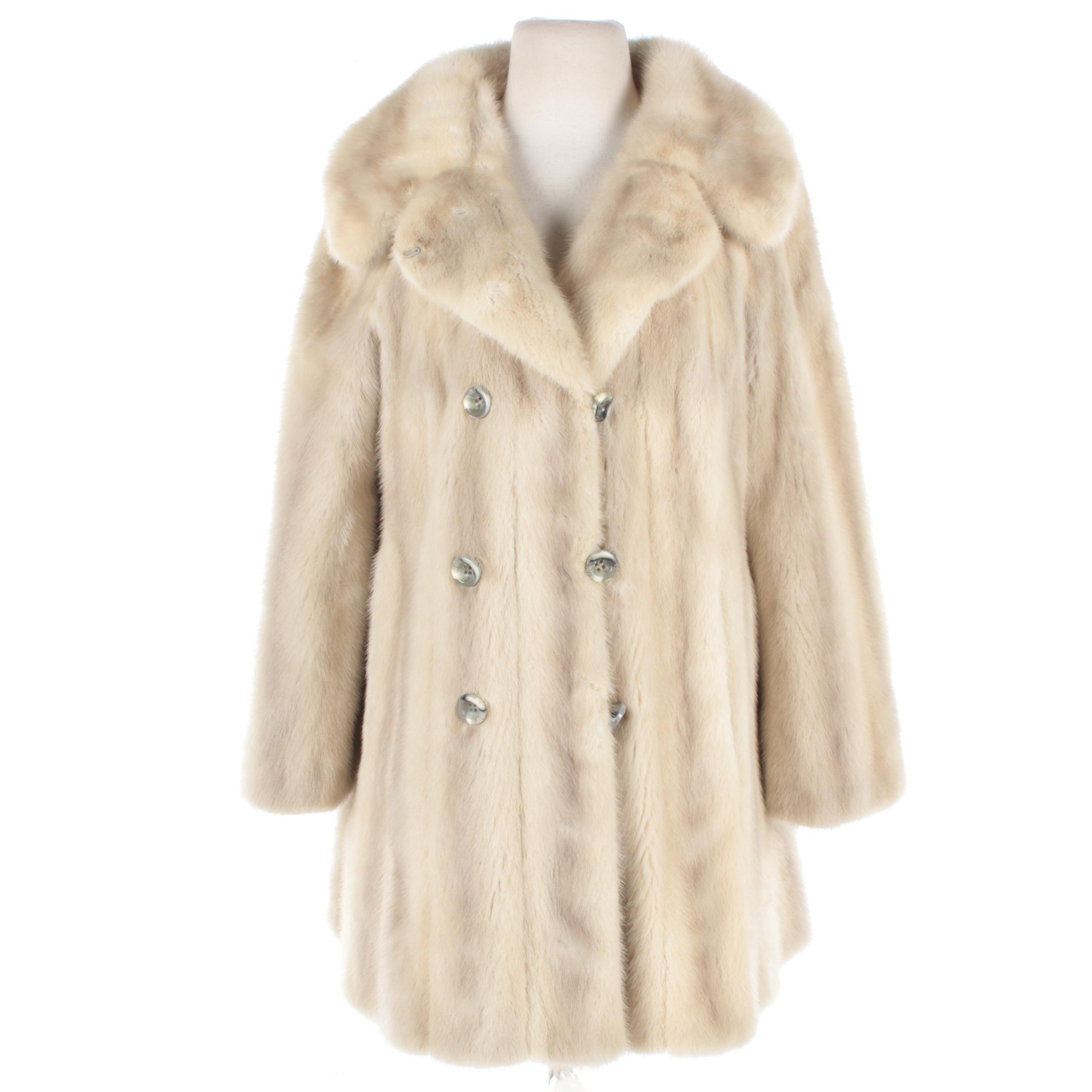 Vintage Hovland-Swanson Mink Fur Coat