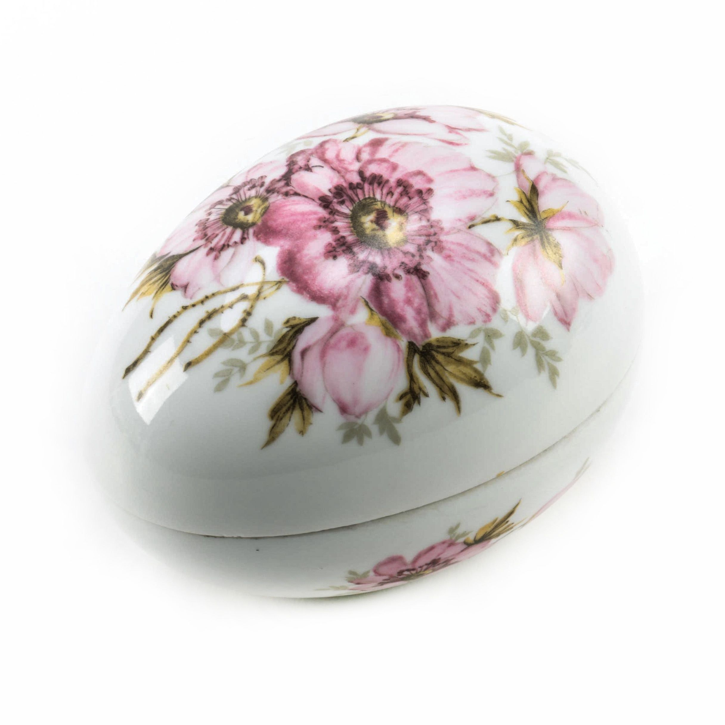 Limoges Porcelain Egg Trinket Box